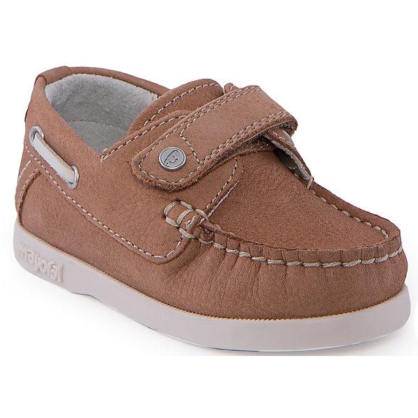 Мокасины для мальчика MayoralМокасины<br>Туфли для мальчика от известной марки Mayoral<br><br>Красивые удобные туфли дополнят образ ребенка в новом весенне-летнем сезоне. Эта модель разработала специально для детей - они комфортные, легко надеваются, отлично выглядят. Сделаны они из легкого, но прочного материала. Комфортно садятся по ноге и не натирают.<br><br>Особенности модели:<br><br>- цвет: бежевый;<br>- плоская нескользящая подошва;<br>- материал - бычья кожа;<br>- застежка-липучка;<br>- декорированы контрастным шнурком;<br>- качественная прошивка.<br><br>Дополнительная информация:<br><br>Состав: верх - натуральная кожа;<br>стелька - натуральная кожа;<br>подошва - полиуретан.<br><br>Кеды от Mayoral (Майорал) можно купить в нашем магазине.<br><br>Ширина мм: 250<br>Глубина мм: 150<br>Высота мм: 150<br>Вес г: 250<br>Цвет: коричневый<br>Возраст от месяцев: 12<br>Возраст до месяцев: 15<br>Пол: Мужской<br>Возраст: Детский<br>Размер: 21,22,20,23,24,25<br>SKU: 4539460