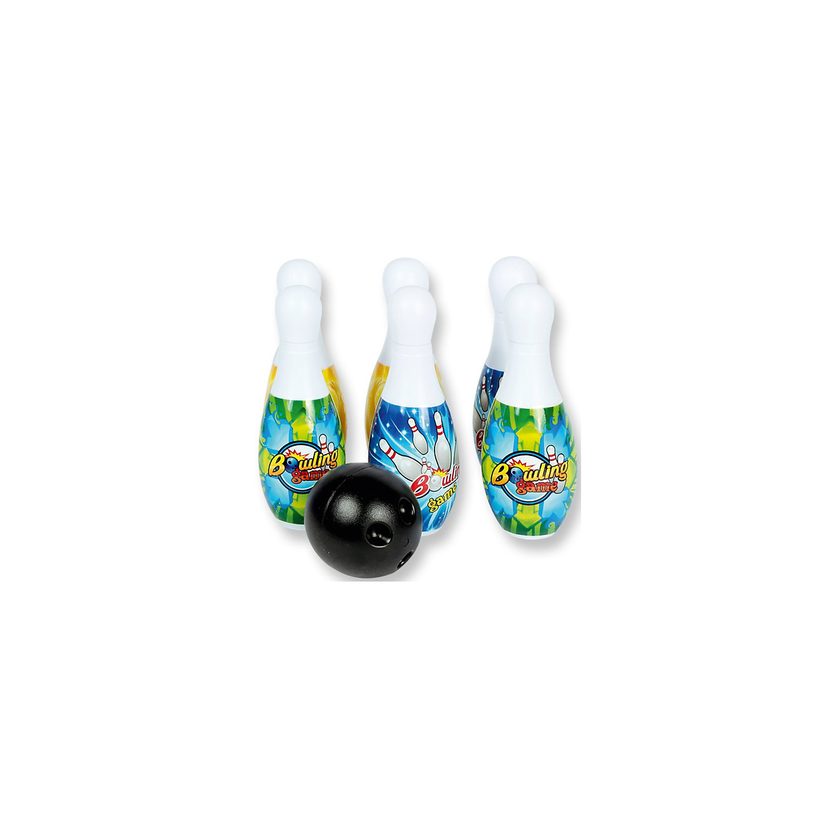 Детская игра Боулинг, YG SportДетская игра Боулинг, YG Sport- прекрасно подойдет для активных детских игр как в зале так и на открытом воздухе. В комплекте шесть кеглей и шар, выполненные из прочного высококачественного пластика. Кегли белого цвета украшены яркими рисунками, черный шар с удобными выемками для пальцев. Игра прекрасно развивает координацию движений, глазомер, ловкость и мелкую моторику. <br><br>Дополнительная информация:<br><br>- В комплекте: 6 кеглей, шар.<br>- Материал: пластик.<br>- Размер кегли: 23 см.<br>- Размер упаковки: 34 х 17 х 22 см.<br>- Вес: 0,439 кг.<br><br>Детскую игру Боулинг, YG Sport, можно купить в нашем интернет-магазине.<br><br>Ширина мм: 342<br>Глубина мм: 170<br>Высота мм: 225<br>Вес г: 439<br>Возраст от месяцев: 36<br>Возраст до месяцев: 72<br>Пол: Унисекс<br>Возраст: Детский<br>SKU: 4540567