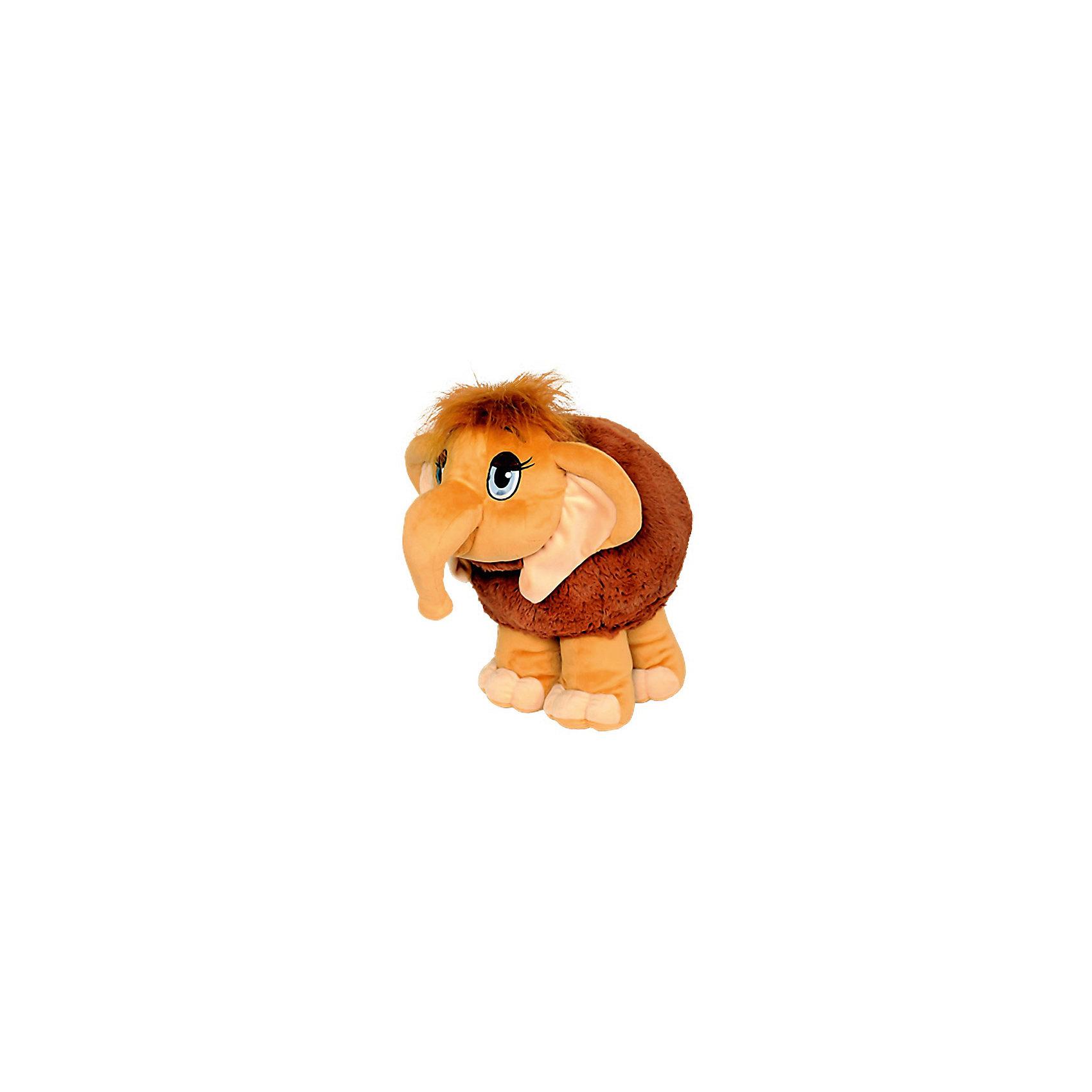 Мягкая игрушка Мамонтенок, СмолТойсМягкие игрушки животные<br>Мамонтенок, СмолТойс  - чудесная мягкая игрушка, которая станет отличным подарком детям любого возраста. У мамонтенка очень мягкая, приятная на ощупь коричневая шерстка и добрая трогательная мордочка с большими глазами. Ребенок с удовольствием будет обнимать и тискать эту очаровательную зверюшку и даже сможет брать ее с собой в кровать, игрушка выполнена из гипоаллергенных материалов и совершенно безопасна для детей. Способствует развитию воображения и тактильной чувствительности у детей.<br><br>Дополнительная информация:<br><br>- Материал: текстиль, плюш.<br>- Размер игрушки: 45 см.<br>- Размер упаковки: 45 x 35 x 41 см.<br>- Вес: 0,5 кг.<br><br>Мягкую игрушку Мамонтенок, СмолТойс, можно купить в нашем интернет-магазине.<br><br>Ширина мм: 450<br>Глубина мм: 350<br>Высота мм: 410<br>Вес г: 500<br>Возраст от месяцев: 36<br>Возраст до месяцев: 49200<br>Пол: Унисекс<br>Возраст: Детский<br>SKU: 4540573