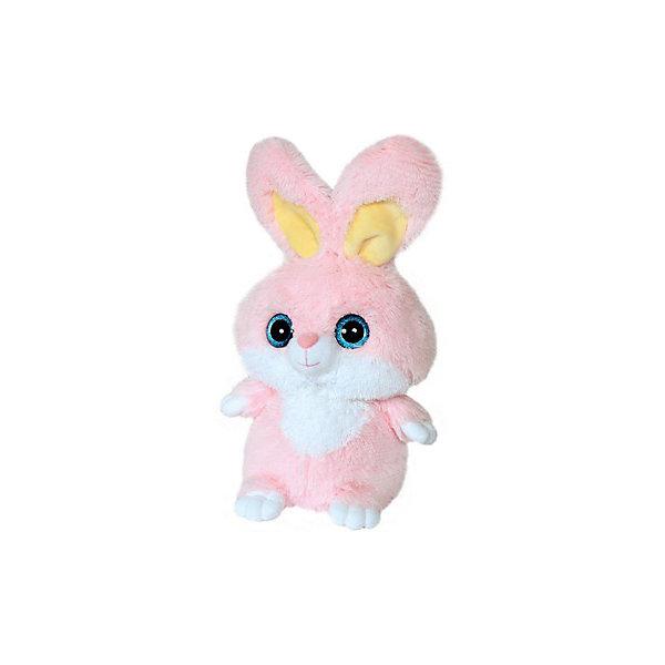 Мягкая игрушка Зайчик, 30 см, СмолТойсМягкие игрушки животные<br>Зайчик, СмолТойс - чудесная мягкая игрушка, которая станет отличным подарком детям любого возраста. У зайчика очень мягкая, приятная на ощупь розовая шерстка и добрая трогательная мордочка с большими голубыми глазами. Ребенок с удовольствием будет обнимать и тискать эту очаровательную зверюшку и даже сможет брать ее с собой в кровать, игрушка выполнена из гипоаллергенных материалов и совершенно безопасна для детей. Способствует развитию воображения и тактильной чувствительности у детей.<br><br>Дополнительная информация:<br><br>- Материал: текстиль, плюш.<br>- Размер игрушки: 30 см.<br>- Размер упаковки: 22 x 27 x 30 см.<br>- Вес: 0,5 кг.<br><br>Мягкую игрушку Зайчик, СмолТойс, можно купить в нашем интернет-магазине.<br><br>Ширина мм: 220<br>Глубина мм: 270<br>Высота мм: 300<br>Вес г: 500<br>Возраст от месяцев: 36<br>Возраст до месяцев: 36000<br>Пол: Унисекс<br>Возраст: Детский<br>SKU: 4540574