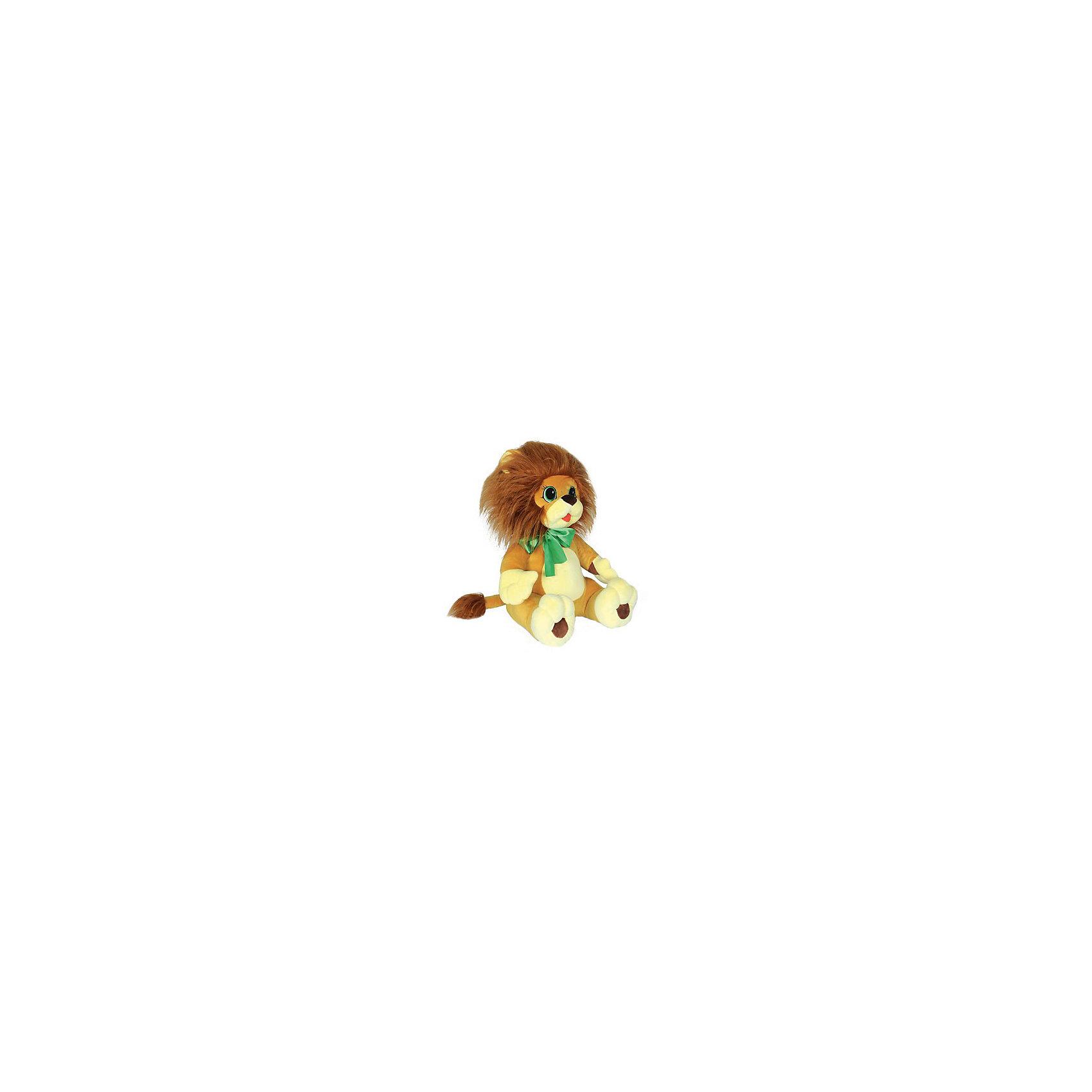 Мягкая игрушка Львенок, СмолТойсЗвери и птицы<br>Львенок, СмолТойс - чудесная мягкая игрушка, которая не оставит равнодушным Вашего ребенка. Это настоящий маленький друг, которому будут рады дети любого возраста. У львенка мягкая бежевая шерстка, густая грива и милая мордочка с большими голубыми глазами. Игрушку украшает нарядный зеленый бант. Ребенок с удовольствием будет обнимать и тискать очаровательного львенка и даже сможет брать его с собой в кровать, игрушка выполнена из гипоаллергенных материалов и совершенно безопасна для детей. Способствует развитию воображения и тактильной чувствительности у детей.<br><br>Дополнительная информация:<br><br>- Материал: текстильный мех, искусственный мех.<br>- Размер игрушки: 45 см.<br>- Размер упаковки: 30 х 40 х 45 см.<br>- Вес: 0,5 кг. <br><br>Мягкую игрушку Львенок, СмолТойс, можно купить в нашем интернет-магазине.<br><br>Ширина мм: 300<br>Глубина мм: 400<br>Высота мм: 450<br>Вес г: 500<br>Возраст от месяцев: 36<br>Возраст до месяцев: 54000<br>Пол: Унисекс<br>Возраст: Детский<br>SKU: 4540579
