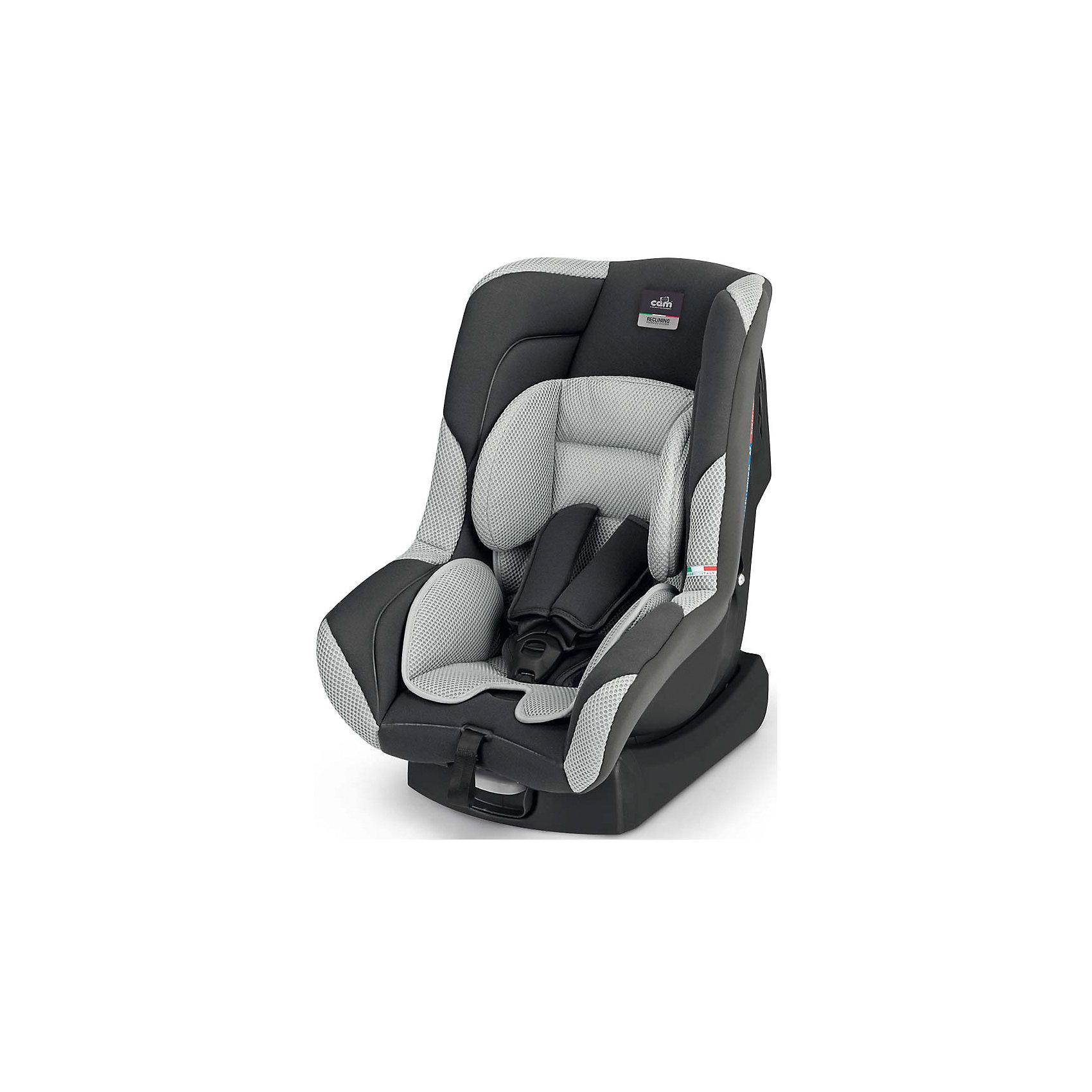 Автокресло Auto Gara, 0-18 кг., CAM, серыйАвтокресло Auto Gara - прекрасный вариант для поездок и путешествий на автомобиле. Укрепленная анатомическая спинка, механизм регулировки высоты ремня и глубокая мягкая защита обеспечат малышу удобство и безопасность. Модель имеет прочную, устойчивую подставку, позволяющую устанавливать кресло не только в автомобиле, но и на любой другой горизонтальной поверхности. Спинка регулируется в 5 положениях, что позволяет креслу адаптироваться под наклон сидений автомобиля. Модель имеет внутренние 5- титочечные ремни безопасности с мягкими внутренними накладками для еще большего комфорта. Съемный износостойкий  чехол выполнен из гипоаллергенных материалов, прекрасно стирается в машине или же руками.<br><br>Дополнительная информация:<br><br>- Материал: пластик, текстиль.<br>- Вес ребенка: 0-18 кг. ( 0-4 года).<br>- Группа 0+/1.<br>- Размер: 60х43х61 см.<br>- Регулировка ремней и плечевых лямок.<br>- 5- титочечные ремни безопасности.<br>- Ортопедическая спинка.<br>- Цвет: серый. <br>- Стирка: ручная, машинная ( при 30 ? ).<br>- Способ установки: по ходу/против хода движения.<br><br>Автокресло Auto Gara, 0-18 кг., CAM, серое  можно купить в нашем магазине.<br><br>Ширина мм: 890<br>Глубина мм: 600<br>Высота мм: 420<br>Вес г: 6600<br>Цвет: серый<br>Возраст от месяцев: 0<br>Возраст до месяцев: 48<br>Пол: Унисекс<br>Возраст: Детский<br>SKU: 4540597