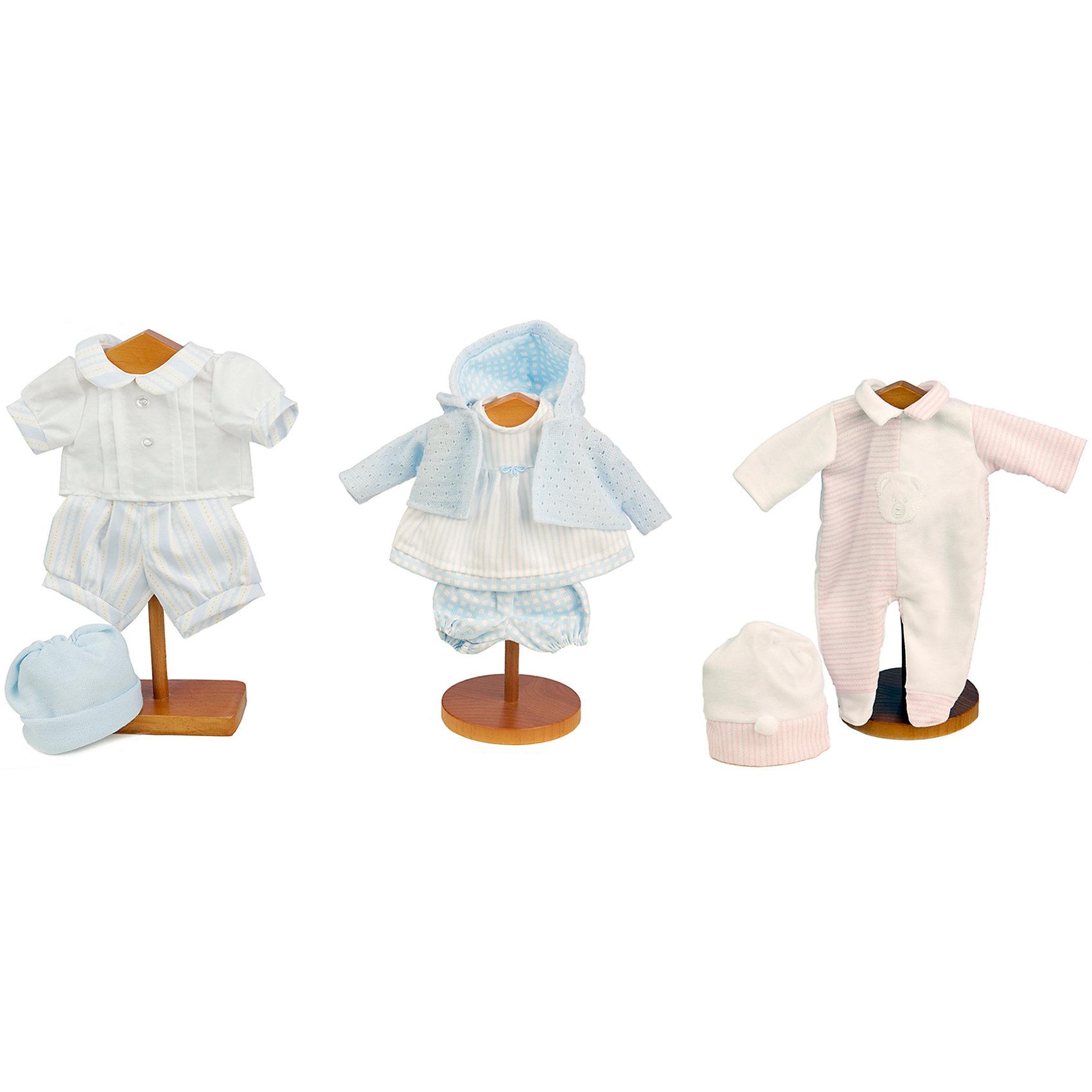 Платье красное для кукол высотой 33 см, Munecas Antonio JuanБренды кукол<br>Идеальная одежда для идеальной куклы! Девочки придут в восторг от этих замечательных комплектов. Вся одежда изготовлена из высококачественных тканей, выполнена в нежной цветовой гамме, сшита очень качественно, выглядит красиво и реалистично. <br><br>Дополнительная информация:<br><br>- Материал: текстиль.<br>- На куклу высотой 33 см. <br>- В ассортименте: комбинезон и шапочка; платье, кофта, трусики, шорты, рубашка, шапочка. <br>ВНИМАНИЕ! Данный артикул представлен в разных вариантах исполнения. К сожалению, заранее выбрать определенный вариант невозможно. При заказе нескольких комплектов одежды, возможно получение одинаковых.<br><br>Одежду для кукол высотой 33 см, Munecas Antonio Juan, можно купить в нашем магазине.<br><br>Ширина мм: 200<br>Глубина мм: 240<br>Высота мм: 10<br>Вес г: 100<br>Возраст от месяцев: 36<br>Возраст до месяцев: 84<br>Пол: Женский<br>Возраст: Детский<br>SKU: 4540601