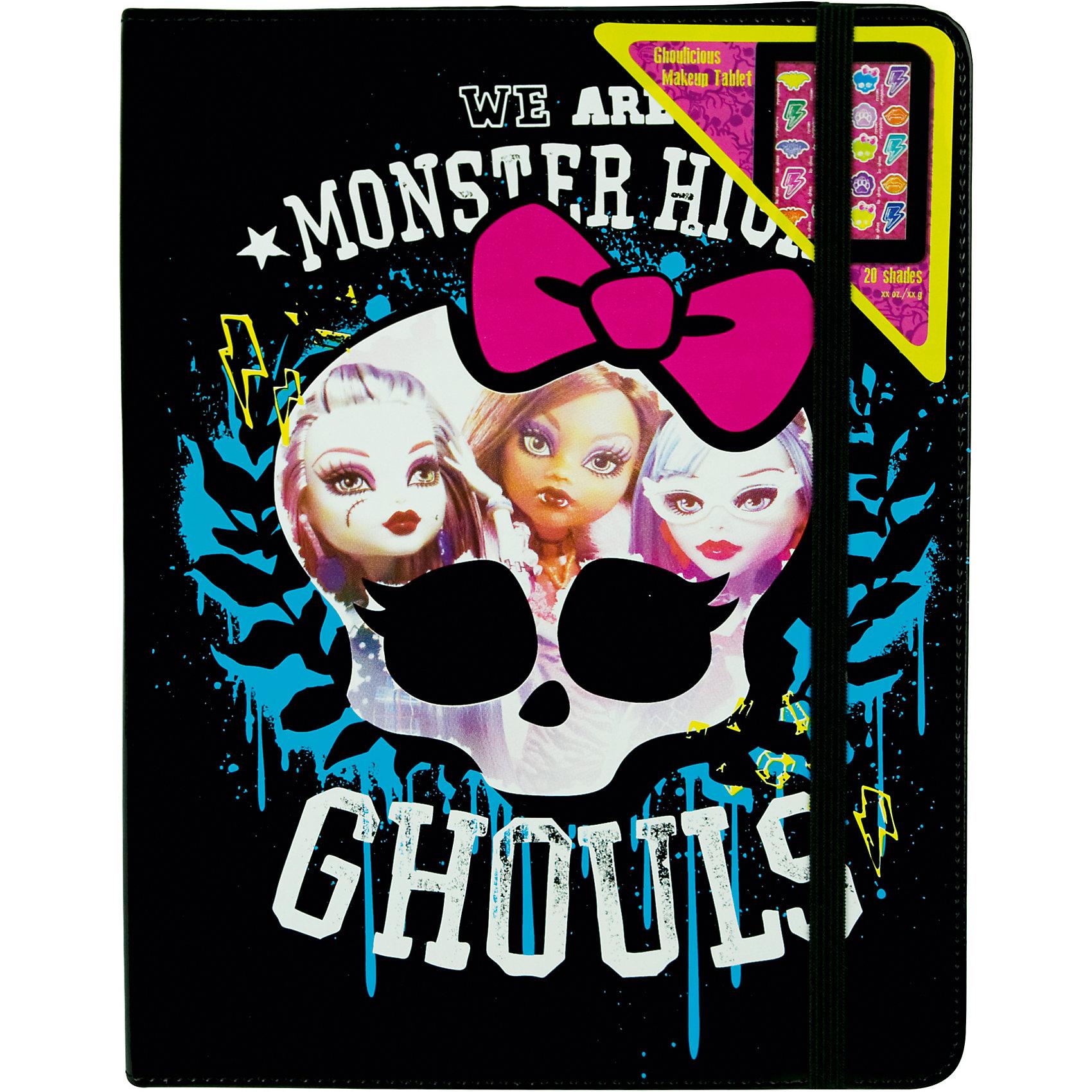 Игровой набор детской декоративной косметики в чехле для планшета, Monster High от myToys