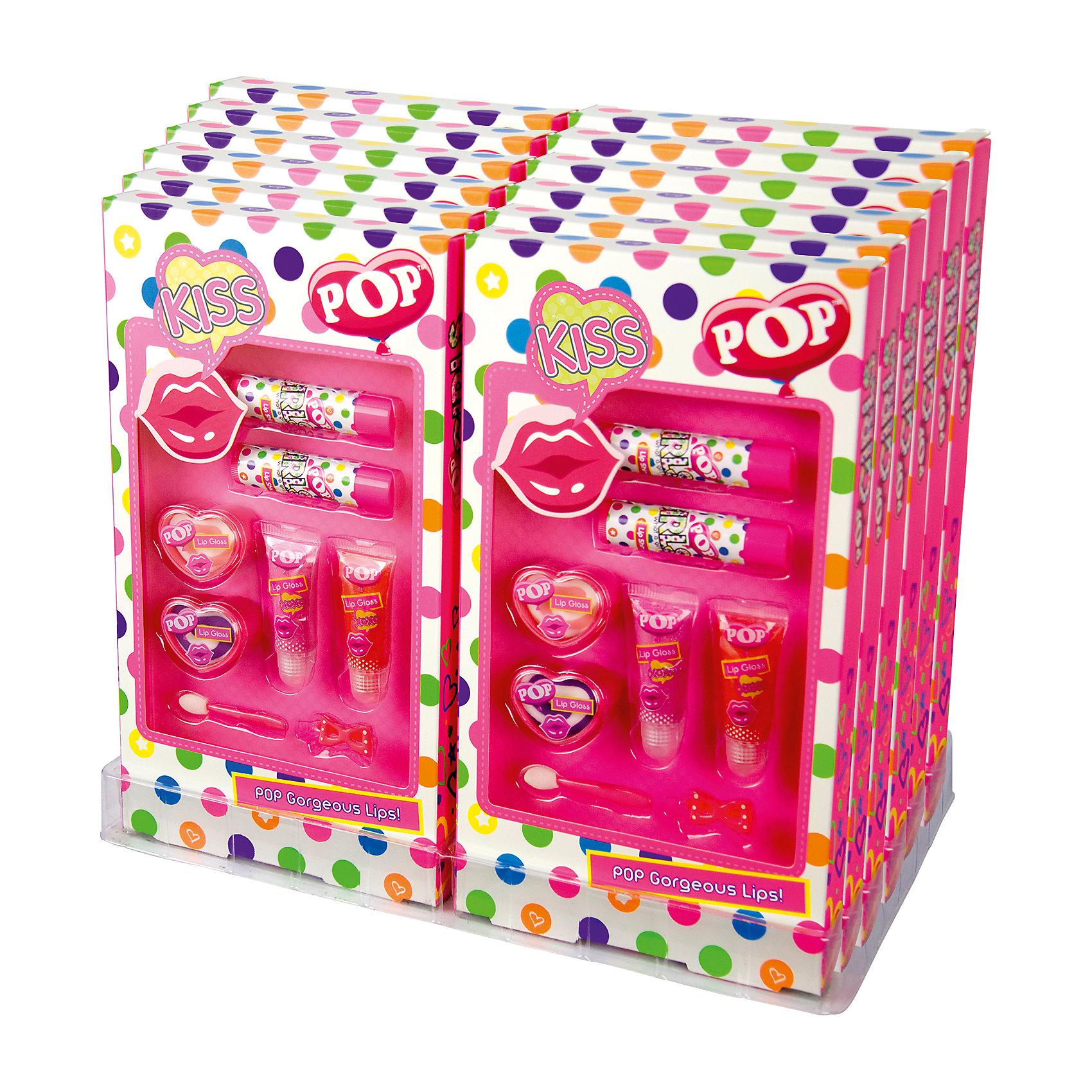 """Игровой набор детской декоративной косметики """"POP"""" для губ от myToys"""