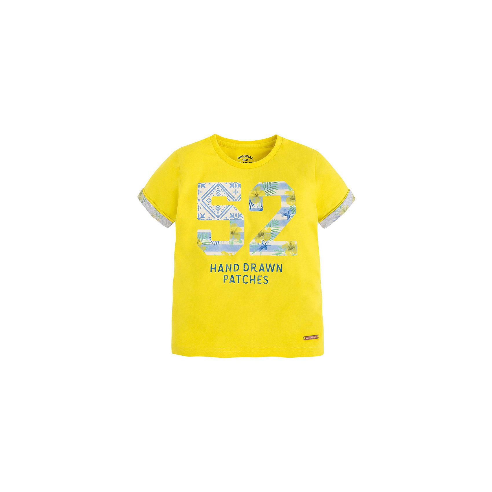 Mayoral Футболка для мальчика Mayoral mayoral футболка mayoral 645051