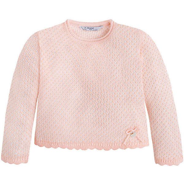 Свитер для девочки MayoralСвитера и кардиганы<br>Свитер для девочки от известной испанской марки Mayoral <br><br>Модный свитер от Mayoral актуален в прохладную погоду. Он прекрасно сочетается с различным низом.  Модель выполнена из качественных материалов, отлично садится по фигуре.<br><br>Особенности модели:<br><br>- цвет: розовый;<br>- рукава длинные;<br>- круглый горловой вырез;<br>- отделка низа и рукавов.<br><br>Дополнительная информация:<br><br>Состав: 100% акрил<br><br>Свитер для девочки Mayoral (Майорал) можно купить в нашем магазине.<br><br>Ширина мм: 190<br>Глубина мм: 74<br>Высота мм: 229<br>Вес г: 236<br>Цвет: розовый<br>Возраст от месяцев: 96<br>Возраст до месяцев: 108<br>Пол: Женский<br>Возраст: Детский<br>Размер: 134,98,122,128,110,104,116<br>SKU: 4542060