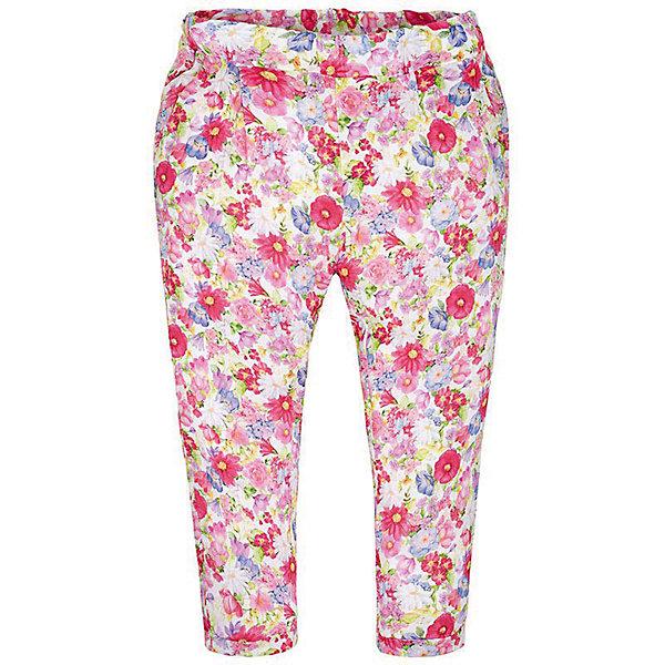 Брюки для девочки MayoralБрюки<br>Брюки для девочки от известной испанской марки Mayoral <br><br>Яркие легкие брюки от Mayoral - прекрасный вариант для юных модниц! Они прекрасно сочетаются с разными вещами. Отличный вариант на лето. Модель выполнена из качественных материалов, отлично сидят по фигуре.<br><br>Особенности модели:<br><br>- цвет: разноцветный;<br>- крой брючин: зауженный;<br>- цветочный принт;<br>- пояс на резинке.<br><br>Дополнительная информация:<br><br>Состав: 100% вискоза<br><br>Брюки для девочки Mayoral (Майорал) можно купить в нашем магазине.<br><br>Ширина мм: 215<br>Глубина мм: 88<br>Высота мм: 191<br>Вес г: 336<br>Цвет: красный<br>Возраст от месяцев: 96<br>Возраст до месяцев: 108<br>Пол: Женский<br>Возраст: Детский<br>Размер: 134,122,128,116,98,104,110<br>SKU: 4542620