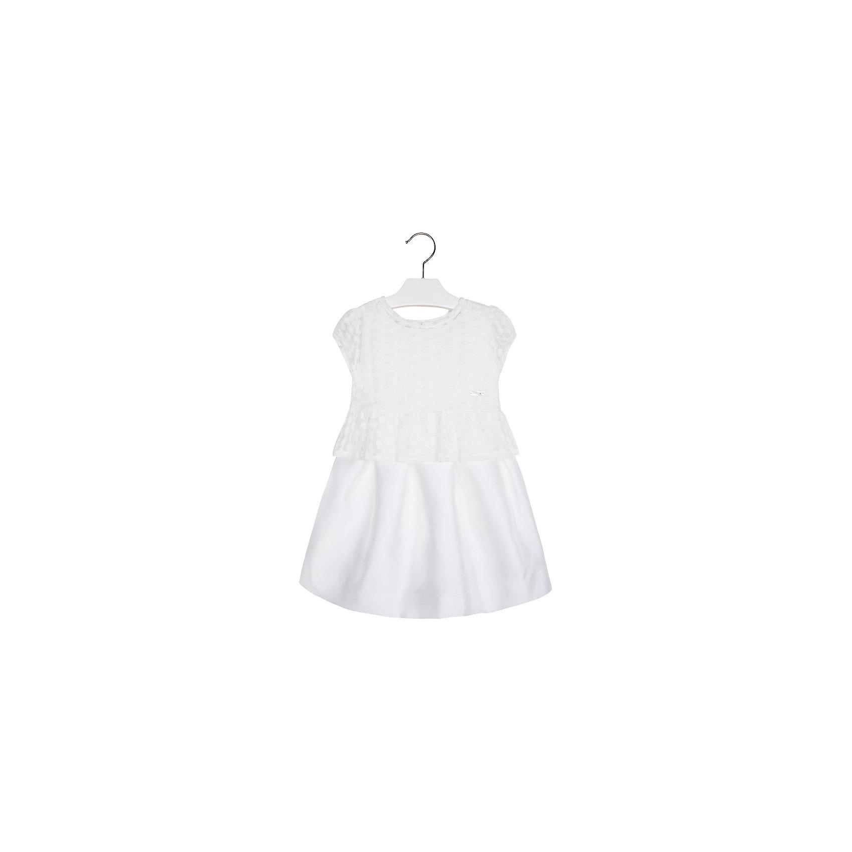 Mayoral Платье для девочки Mayoral gaialuna платье для девочки ge531249 белый gaialuna
