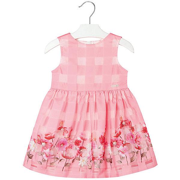 Платье для девочки MayoralОдежда<br>Платье для девочки от известной испанской марки Mayoral <br><br>Очень красивое платье от Mayoral отлично смотрится на любой маленькой принцессе! Выглядит нарядно и оригинально. Модель выполнена из качественных материалов, отлично сидит по фигуре.<br><br>Особенности модели:<br><br>- цвет: розовый;<br>- украшено принтом;<br>- сзади молния.<br><br>Дополнительная информация:<br><br>Состав: 100% полиэстер<br><br>Платье для девочки Mayoral (Майорал) можно купить в нашем магазине.<br><br>Ширина мм: 236<br>Глубина мм: 16<br>Высота мм: 184<br>Вес г: 177<br>Цвет: розовый<br>Возраст от месяцев: 48<br>Возраст до месяцев: 60<br>Пол: Женский<br>Возраст: Детский<br>Размер: 110,134,128,116,104,92,98,122<br>SKU: 4543119