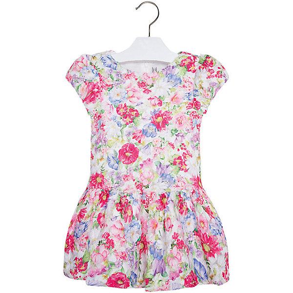 Платье для девочки MayoralПлатья и сарафаны<br>Платье для девочки от известной испанской марки Mayoral <br><br>Очень красивое платье от Mayoral отлично смотрится на любой маленькой принцессе! Выглядит нарядно и оригинально. Модель выполнена из качественных материалов, отлично сидит по фигуре.<br><br>Особенности модели:<br><br>- цвет: розовый;<br>- украшено принтом;<br>- сзади молния.<br><br>Дополнительная информация:<br><br>Состав: 100% полиэстер<br><br>Платье для девочки Mayoral (Майорал) можно купить в нашем магазине.<br><br>Ширина мм: 236<br>Глубина мм: 16<br>Высота мм: 184<br>Вес г: 177<br>Цвет: красный<br>Возраст от месяцев: 18<br>Возраст до месяцев: 24<br>Пол: Женский<br>Возраст: Детский<br>Размер: 92,122,128,116,110,134,98,104<br>SKU: 4543162