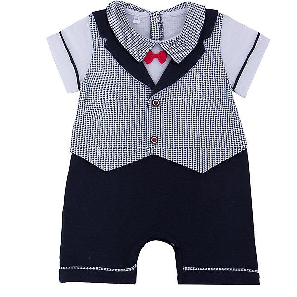 Песочник для мальчика Soni KidsПесочники<br>Песочник для мальчика от популярной марки Soni Kids <br> <br>Нарядный и удобный песочник в черно-белой гамме сшит из мягкого дышащего хлопка. Это гипоаллергенный материал, который отлично подходит для детской одежды. Правильный крой обеспечит ребенку удобство, не будет натирать и стеснять движения. <br> <br>Особенности модели: <br> <br>- цвет - белый, черный; <br>- материал - натуральный хлопок; <br>- декорирован красным бантиком; <br>- имитация жилета и шорт; <br>- отложной воротник; <br>- рукава короткие, с отделкой; <br>- застежки - кнопки сзади и внизу. <br> <br>Дополнительная информация: <br> <br>Состав: 100% хлопок <br> <br>Песочник для мальчика от популярной марки Soni Kids (Сони Кидс) можно купить в нашем магазине.<br><br>Ширина мм: 157<br>Глубина мм: 13<br>Высота мм: 119<br>Вес г: 200<br>Цвет: черный/белый<br>Возраст от месяцев: 2<br>Возраст до месяцев: 5<br>Пол: Мужской<br>Возраст: Детский<br>Размер: 62,80,86,68,74<br>SKU: 4545045