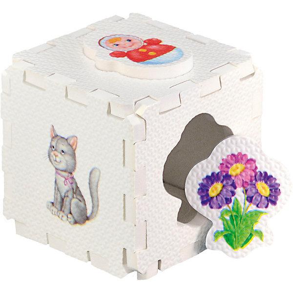 Кубик EVA - сортер Для девочек