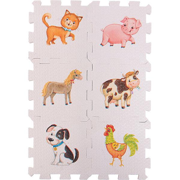 Кубик EVA Домашние животныеПервые книги малыша<br>Набор состоит из 6 больших деталей-пазлов, которые можно собрать в объёмный кубик. Собирая кубик и играя с его деталями, малыши тренируют мелкую моторику, развивают мышление, память, внимание, а также получают навыки творческого конструирования.<br>Детали-пазлы сделаны из экологически чистого и гипоаллергенного материала ЭВА (EVA), который не имеет цвета, запаха и вкуса, а значит, идеально подходит для первых развивающих игрушек и игр.<br>Особенности пазлов ЭВА открывают дополнительные возможности для различных игровых сюжетов:<br>- детали-пазлы можно грызть, мять, гнуть, сжимать и мочить, и при этом они не испортятся; <br>- с набором можно играть в воде, детали плавают и легко крепятся к кафелю и стенкам ванны; <br>- уникальная технология печати картинок на пазлах передаёт все оттенки цветов, и дети быстрее учатся узнавать нарисованные на них предметы в окружающем мире; <br>- набор идеально подходит для развития детской моторики, сенсорики, навыков конструирования; <br>- детали-пазлы из разных наборов подходят к друг другу, вы легко можете комбинировать разные наборы.<br><br>Дополнительная информация:<br><br>- Материал: ЭВА.<br>- Размер: 25,5х24 см. <br>- Толщина детали-пазла: 3 см. <br>- Комплектация: 6 деталей.<br>- Детали-пазлы подходят к другим наборам. <br>- Используются стойкие гипоаллергенный красители.<br>- Подходит для игр в воде. <br><br>Кубик EVA - сортер Домашние животные можно купить в нашем магазине.<br><br>Ширина мм: 255<br>Глубина мм: 240<br>Высота мм: 10<br>Вес г: 72<br>Возраст от месяцев: 12<br>Возраст до месяцев: 36<br>Пол: Унисекс<br>Возраст: Детский<br>SKU: 4545587