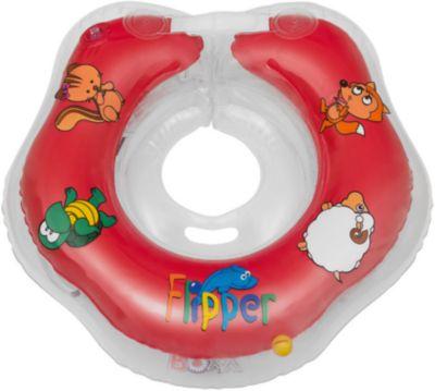 Круг На Шею Flipper Fl001 Для Купания Малышей 0+, Roxy-Kids, Красный Круг На Шею Flipper Fl001 Для Купания Малышей 0+, Roxy-Kids,