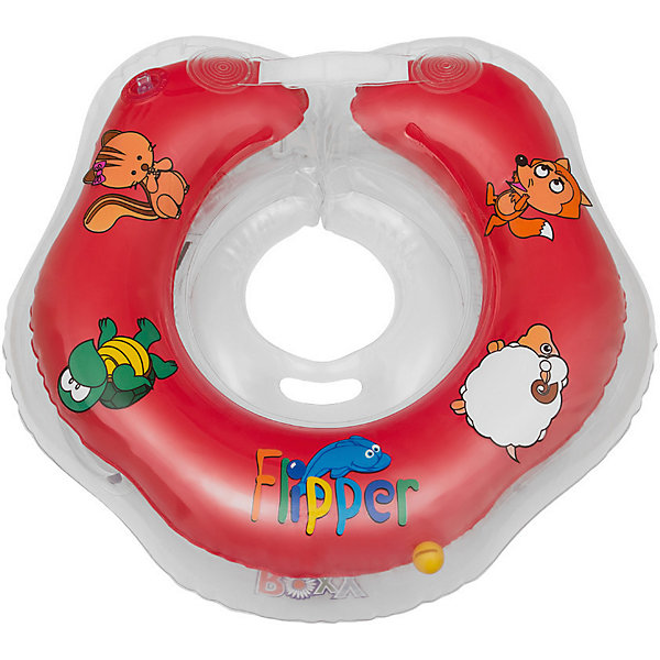 Круг на шею Flipper FL001 для купания малышей 0+, Roxy-Kids, красныйКруги для купания малыша<br>Круг на шею Flipper FL001, Roxy-Kids, обеспечит безопасность и комфорт Вашего ребенка во время купания и активных игр в воде. Может использоваться в ванной или для бассейна и на море. Круг выполнен из прочного полимера, имеет яркий привлекательный дизайн и полностью безопасен для детей. Оснащен двумя воздушными камерами, в которых находятся шарики-погремушки, комфортной выемкой для подбородка и ручками, благодаря которым родители смогут контролировать малыша. Дополнительная безопасность круга обеспечивается особой конструкцией круг в круге. Мягкий шов не натирает шею малыша благодаря технологии внутреннего шва. Две практичные регулируемые застежки (карабин и липучка) позволяют быстро и легко зафиксировать круг во время купания. Рассчитан на детей от 0 до 2 лет, весом до 18 кг.<br><br>Дополнительная информация:<br><br>- Цвет: красный/домашние животные.<br>- Материал: ПВХ.<br>- Размер круга: 39 х 36 см.<br>- Размер упаковки: 15 х 5 х 15 см.<br>- Вес: 0,3 кг.<br><br>Круг на шею Flipper FL001 для купания малышей 0+, Roxy-Kids, красный, можно купить в нашем интернет-магазине.<br>Ширина мм: 150; Глубина мм: 50; Высота мм: 150; Вес г: 300; Цвет: красный; Возраст от месяцев: 0; Возраст до месяцев: 18; Пол: Унисекс; Возраст: Детский; SKU: 4546379;