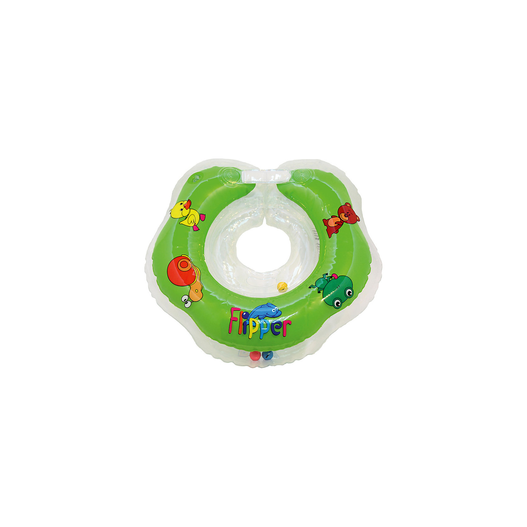 Roxy-Kids Круг на шею Flipper FL001 для купания малышей 0+, Roxy-Kids, roxy kids козырек защитный для мытья головы rbc 492 g зеленый от 6 месяцев до 3 лет
