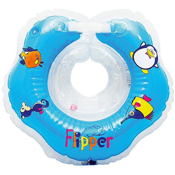 Круг на шею Flipper FL001 для купания малышей 0+, Roxy-Kids, голубойКруги для купания малыша<br>Круг на шею Flipper FL001, Roxy-Kids, обеспечит безопасность и комфорт Вашего ребенка во время купания и активных игр в воде. Может использоваться в ванной или для бассейна и на море. Круг выполнен из прочного полимера, имеет яркий привлекательный дизайн и полностью безопасен для детей. Оснащен двумя воздушными камерами, в которых находятся шарики-погремушки, комфортной выемкой для подбородка и ручками, благодаря которым родители смогут контролировать малыша. Дополнительная безопасность круга обеспечивается особой конструкцией круг в круге. Мягкий шов не натирает шею малыша благодаря технологии внутреннего шва. Две практичные регулируемые застежки (карабин и липучка) позволяют быстро и легко зафиксировать круг во время купания. Рассчитан на детей от 0 до 2 лет, весом до 18 кг.<br><br>Дополнительная информация:<br><br>- Цвет: голубой/морские обитатели.<br>- Материал: ПВХ.<br>- Размер круга: 39 х 36 см.<br>- Размер упаковки: 15 х 5 х 15 см.<br>- Вес: 0,3 кг.<br><br>Круг на шею Flipper FL001 для купания малышей 0+, Roxy-Kids, голубой, можно купить в нашем интернет-магазине.<br>Ширина мм: 150; Глубина мм: 50; Высота мм: 150; Вес г: 300; Цвет: голубой; Возраст от месяцев: 0; Возраст до месяцев: 18; Пол: Мужской; Возраст: Детский; SKU: 4546382;
