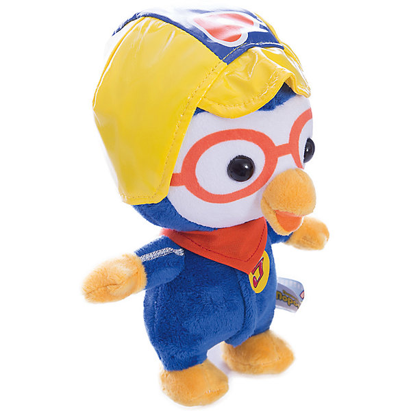Мягкая игрушка Пороро, Пингвиненок Пороро, МУЛЬТИ-ПУЛЬТИМягкие игрушки из мультфильмов<br>Мягкая игрушка Пороро, Пингвиненок Пороро, станет прекрасным подарком для всех маленьких любителей популярного мультсериала Пингвиненок Пороро. Трогательный милый пингвиненок полностью соответствует своему мультперсонажу. У него мягкая, приятная на ощупь шерстка и веселая дружелюбная мордочка с оранжевым клювом. Пингвиненок одет в синий комбинезон и желтый шлем, игрушка озвучена. Симпатичный пингвиненок станет замечательным другом Вашему ребенку, игрушка способствует развитию фантазии, воображения, тактильного восприятия и мелкой моторики.<br><br>Дополнительная информация:<br><br>- Материал: текстиль.<br>- Размер игрушки: 18 см.<br>- Размер упаковки: 20 х 23 х 11 см.<br>- Вес: 120 гр.<br><br>Мягкую игрушку Пороро, Пингвиненок Пороро, Мульти-Пульти, можно купить в нашем интернет-магазине.<br>Ширина мм: 200; Глубина мм: 230; Высота мм: 110; Вес г: 120; Возраст от месяцев: 36; Возраст до месяцев: 144; Пол: Унисекс; Возраст: Детский; SKU: 4546570;