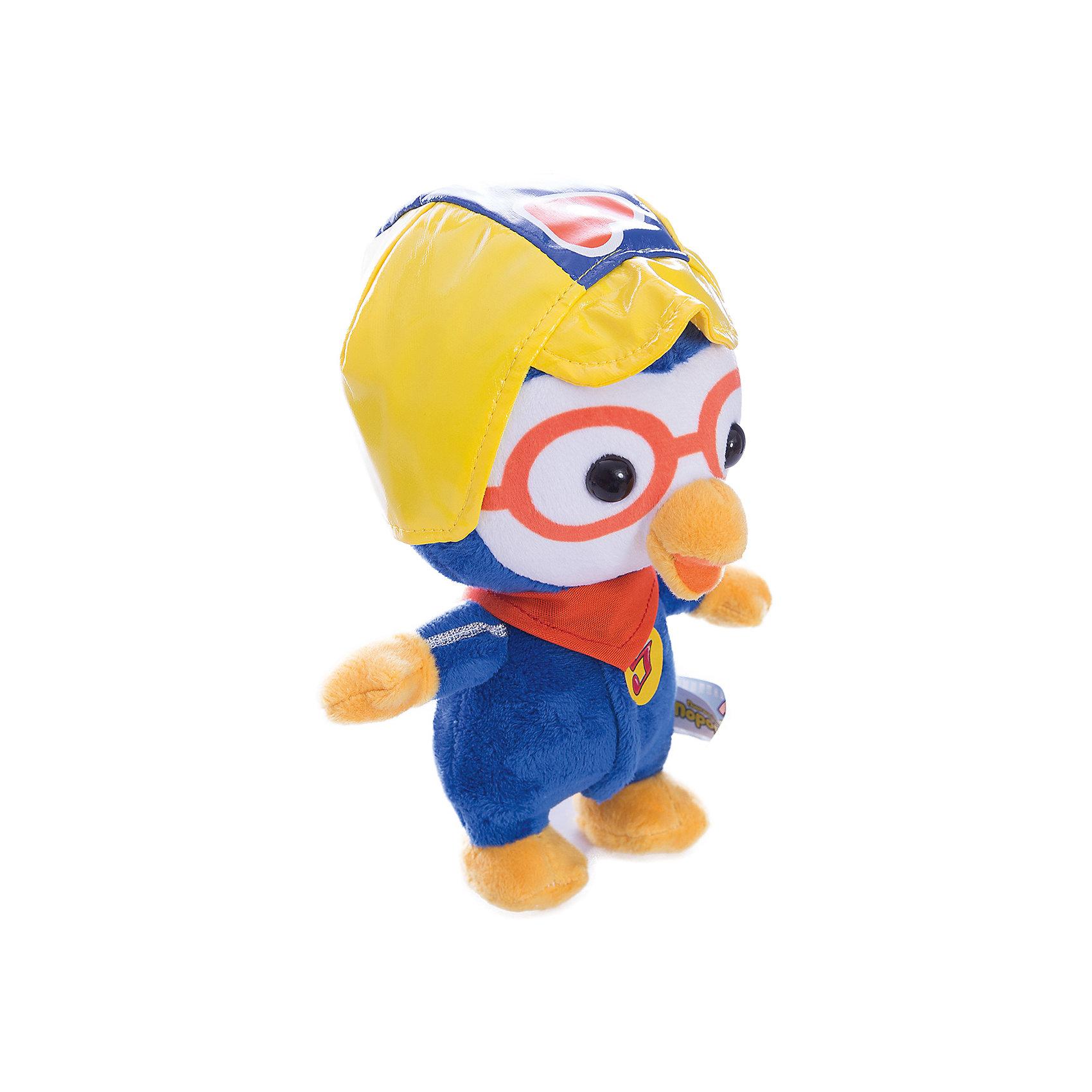 Мягкая игрушка Пороро, Пингвиненок Пороро, МУЛЬТИ-ПУЛЬТИЛюбимые герои<br>Мягкая игрушка Пороро, Пингвиненок Пороро, станет прекрасным подарком для всех маленьких любителей популярного мультсериала Пингвиненок Пороро. Трогательный милый пингвиненок полностью соответствует своему мультперсонажу. У него мягкая, приятная на ощупь шерстка и веселая дружелюбная мордочка с оранжевым клювом. Пингвиненок одет в синий комбинезон и желтый шлем, игрушка озвучена. Симпатичный пингвиненок станет замечательным другом Вашему ребенку, игрушка способствует развитию фантазии, воображения, тактильного восприятия и мелкой моторики.<br><br>Дополнительная информация:<br><br>- Материал: текстиль.<br>- Размер игрушки: 18 см.<br>- Размер упаковки: 20 х 23 х 11 см.<br>- Вес: 120 гр.<br><br>Мягкую игрушку Пороро, Пингвиненок Пороро, Мульти-Пульти, можно купить в нашем интернет-магазине.<br><br>Ширина мм: 200<br>Глубина мм: 230<br>Высота мм: 110<br>Вес г: 120<br>Возраст от месяцев: 36<br>Возраст до месяцев: 144<br>Пол: Унисекс<br>Возраст: Детский<br>SKU: 4546570
