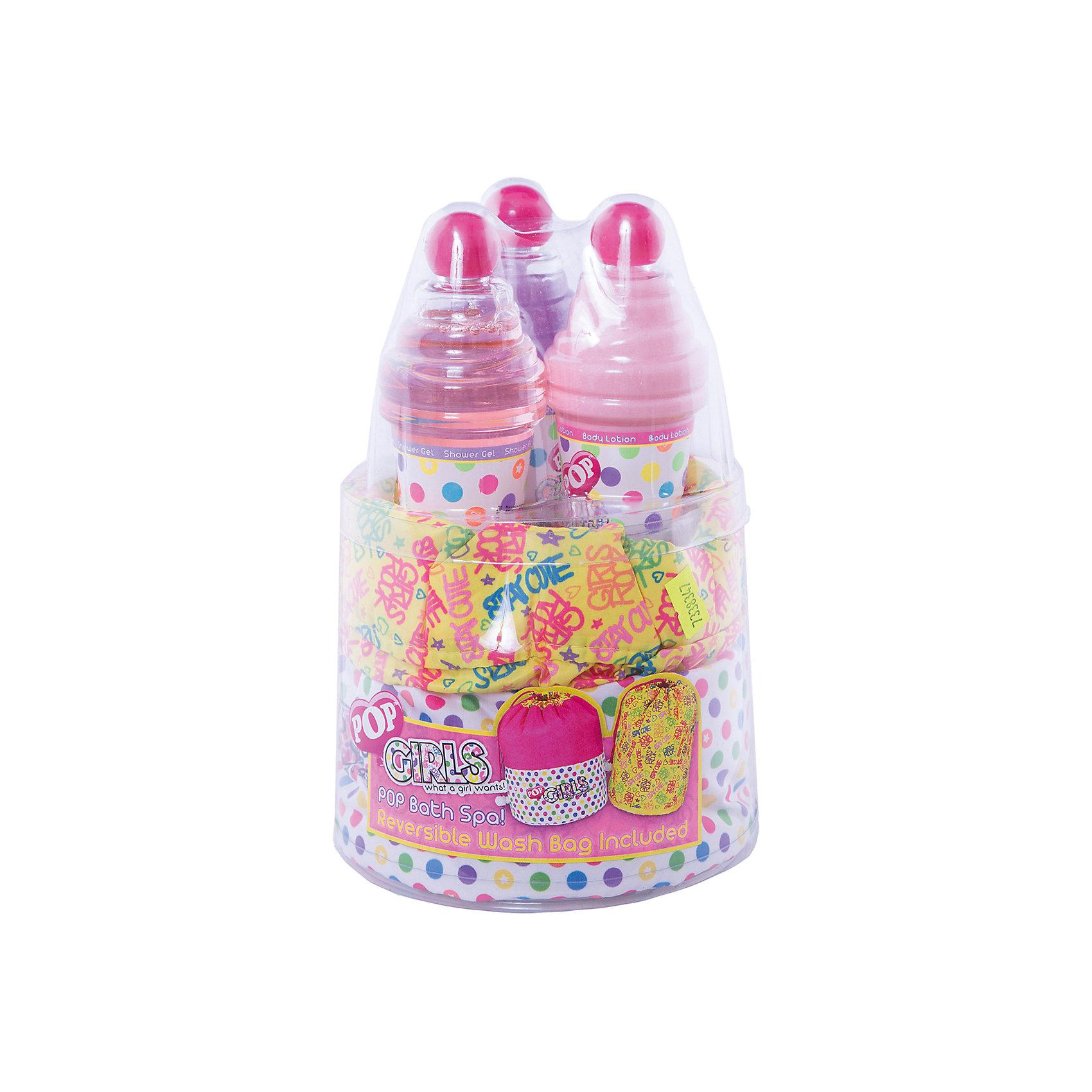 Игровой набор детской декоративной косметики POP для душаНаборы детской косметики<br>Характеристики:<br><br>• Наименование: детская декоративная косметика<br>• Предназначение: для сюжетно-ролевых игр<br>• Пол: для девочки<br>• Материал: натуральные косметические компоненты, пластик<br>• Цвет: синий, розовый, красный и др.<br>• Комплектация: гель для душа, крем для тела, мерцающий гель для тела с блестками, сумочка<br>• Размеры (Д*Ш*В): 24*15*15 см<br>• Вес: 495 г <br>• Упаковка: водонепроницаемая сумочка<br><br>Игровой набор детской декоративной косметики POP для душа – это набор игровой детской косметики от Markwins, которая вот уже несколько десятилетий специализируется на выпуске детской косметики. Рецептура декоративной детской косметики разработана совместно с косметологами и медиками, в основе рецептуры – водная основа, а потому она гипоаллергенны, не вызывает раздражений на детской коже и легко смывается, не оставляя следа. Безопасность продукции подтверждена международными сертификатами качества и безопасности. <br>Игровой набор детской декоративной косметики POP состоит из косметических средств для принятия душа и ухода за кожей после гигиенических процедур. Флакончики с гелями и кремами упакованы в водонепроницаемый яркий мешочек-сумочку. Гигиенические средства, входящие в набор, имеют тонкий нежный аромат, после их использования на коже остается легкое мерцание. Косметические средства, входящие в состав набора, имеют длительный срок хранения – 12 месяцев. Игровой набор детской декоративной косметики POP от Markwins может стать незаменимым праздничным подарком для любой маленькой модницы!<br><br>Игровой набор детской декоративной косметики POP для душа можно купить в нашем интернет-магазине.<br><br>Ширина мм: 152<br>Глубина мм: 157<br>Высота мм: 217<br>Вес г: 499<br>Возраст от месяцев: 48<br>Возраст до месяцев: 192<br>Пол: Женский<br>Возраст: Детский<br>SKU: 4547902