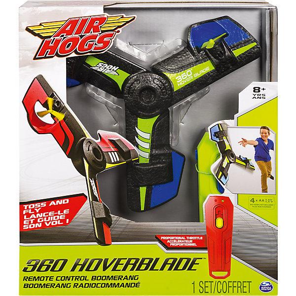 Бумеранг, AIR HOGSНаборы оружия<br>Бумеранг, Air Hogs - прекрасный вариант для подвижных игр на открытом воздухе. Бумеранг состоит из трех мягких лопастей с маленькими пропеллерами на каждой, что позволяет игрушке лететь по кругу и возвращаться к игроку как бумеранг. Лопасти выполнены из мягкого материала, не могут нанести травму и не ломаются при падении. С помощью пульта дистанционного управления игрушку можно запустить высоко в небо, корректировать скорость и радиус траектории полета. Благодаря встроенному сенсору, бумеранг держит дистанцию от поверхности (от пола, руки). Игрушка стимулируют физическую активность ребенка, задействует все группы мышц, помогает развить глазомер и координацию движений. <br><br>Дополнительная информация:<br><br>- В комплекте: бумеранг, пульт управления, инструкция. <br>- Материал: облегченный спрессованный пенопласт, пластик.<br>- Требуются батарейки для пульта: 4 х АА/LR6 1.5V (не входят в комплект).<br>- Размер упаковки: 6 х 25,5 х 30 см.<br>- Вес: 0,4 кг.<br><br>Бумеранг, Air Hogs, можно купить в нашем интернет-магазине.<br><br>Ширина мм: 255<br>Глубина мм: 300<br>Высота мм: 60<br>Вес г: 408<br>Возраст от месяцев: 60<br>Возраст до месяцев: 192<br>Пол: Мужской<br>Возраст: Детский<br>SKU: 4547910