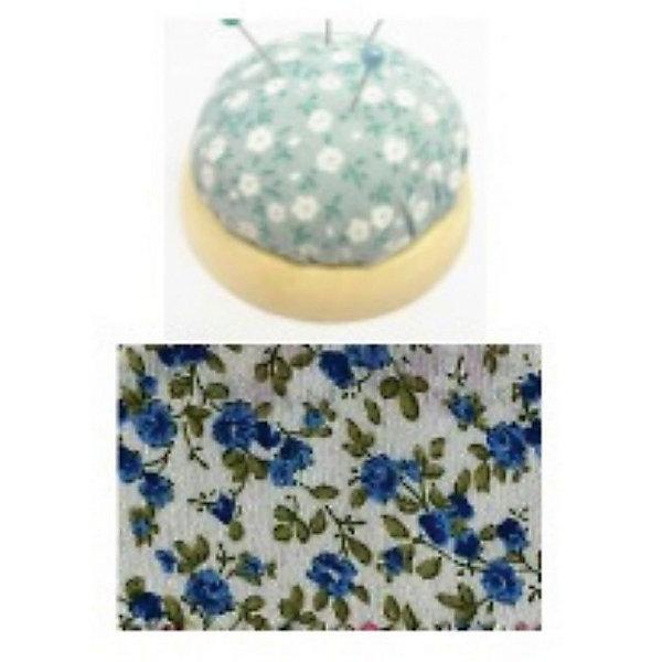 Игольница-подушечка Синие цветы 7,3*4,5 смШитьё<br>Игольница-подушечка - прекрасный подарок, который понравится любой рукодельнице! Игольница выполнена из прочного текстильного материала, украшенного нежным цветочным принтом. Подставка из дерева удобная и устойчивая. Прекрасный вариант для памятного сувенира!<br><br>Дополнительная информация:<br><br>- Материал: синтетический хлопок, полиэстер, древесина вишни.<br>- Размер: 7,3х4,5 см.<br><br>Игольницу-подушечку Синие цветы, 7,3х4,5 см, можно купить в нашем магазине.<br><br>Ширина мм: 73<br>Глубина мм: 45<br>Высота мм: 45<br>Вес г: 50<br>Возраст от месяцев: 108<br>Возраст до месяцев: 2147483647<br>Пол: Женский<br>Возраст: Детский<br>SKU: 4548391
