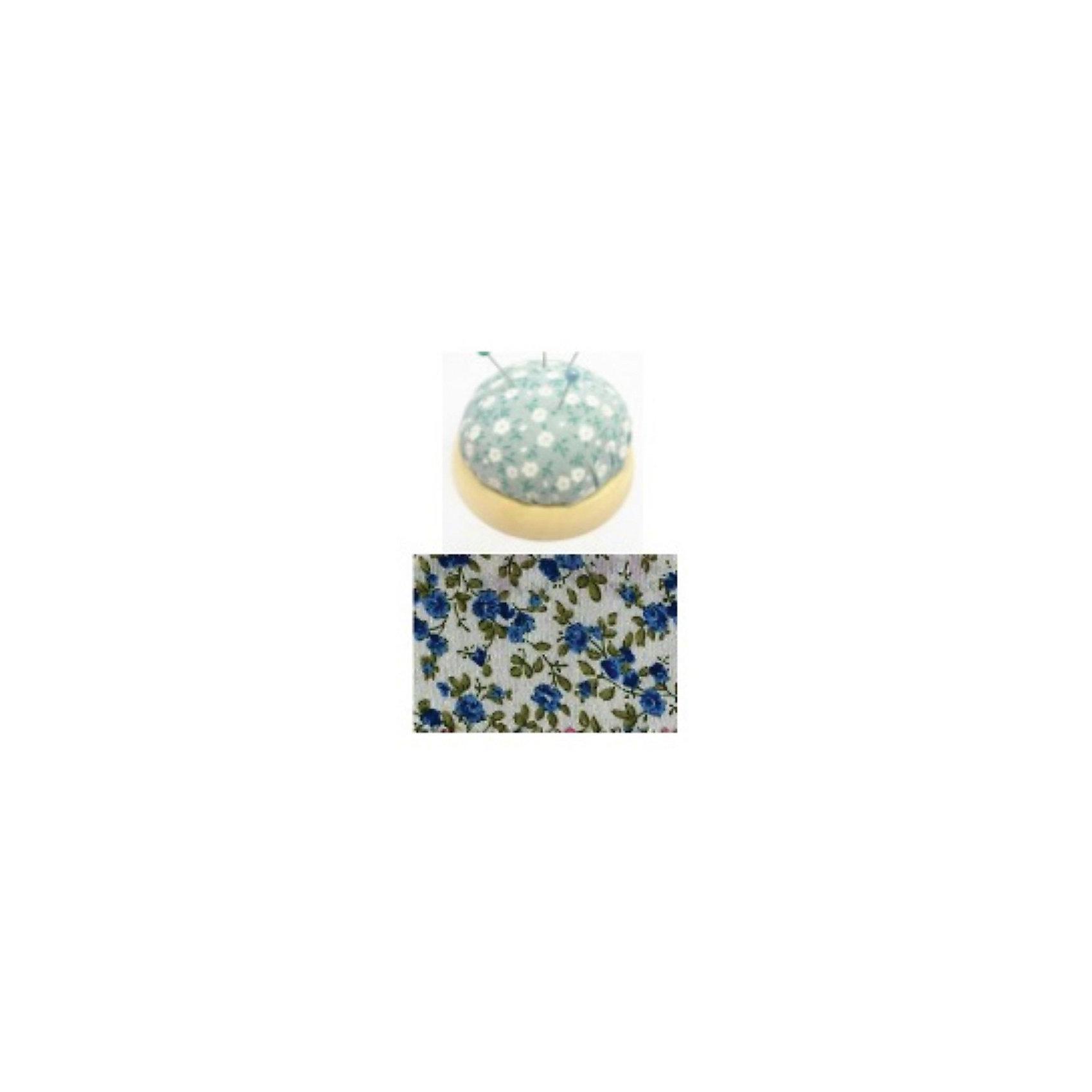 Игольница-подушечка Синие цветы 7,3*4,5 смИгольница-подушечка - прекрасный подарок, который понравится любой рукодельнице! Игольница выполнена из прочного текстильного материала, украшенного нежным цветочным принтом. Подставка из дерева удобная и устойчивая. Прекрасный вариант для памятного сувенира!<br><br>Дополнительная информация:<br><br>- Материал: синтетический хлопок, полиэстер, древесина вишни.<br>- Размер: 7,3х4,5 см.<br><br>Игольницу-подушечку Синие цветы, 7,3х4,5 см, можно купить в нашем магазине.<br><br>Ширина мм: 73<br>Глубина мм: 45<br>Высота мм: 45<br>Вес г: 50<br>Возраст от месяцев: 108<br>Возраст до месяцев: 2147483647<br>Пол: Женский<br>Возраст: Детский<br>SKU: 4548391