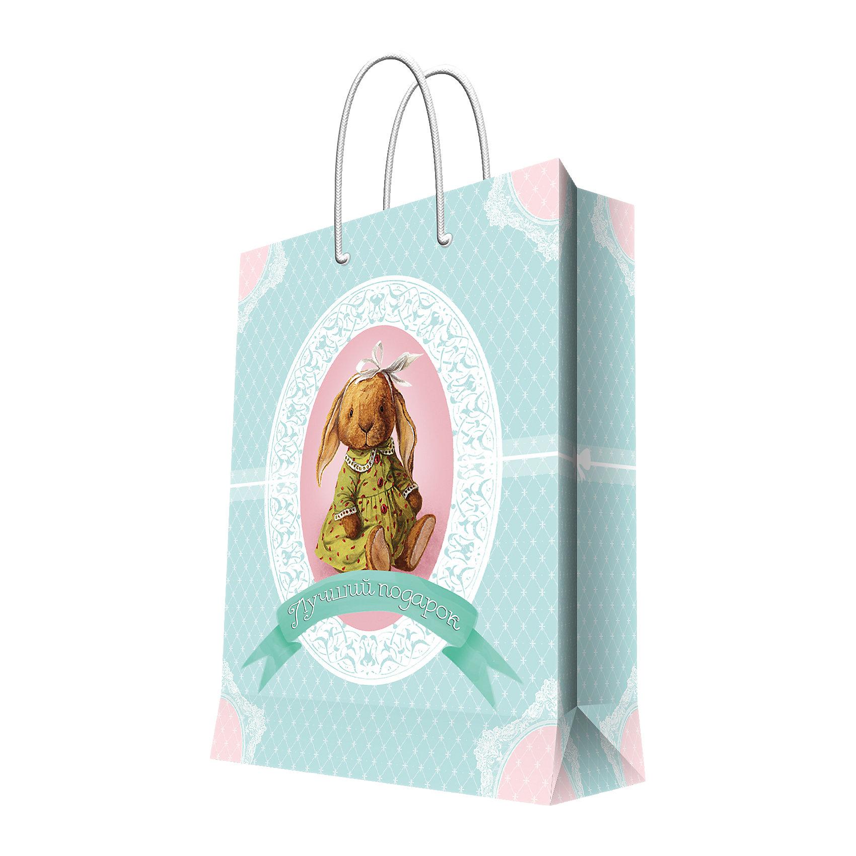 пакет подарочный феникс презент галстуки и бабочки 26 32 4 12 7см 44231 Феникс-Презент Подарочный пакет Зверята 26*32,4*12,7 см