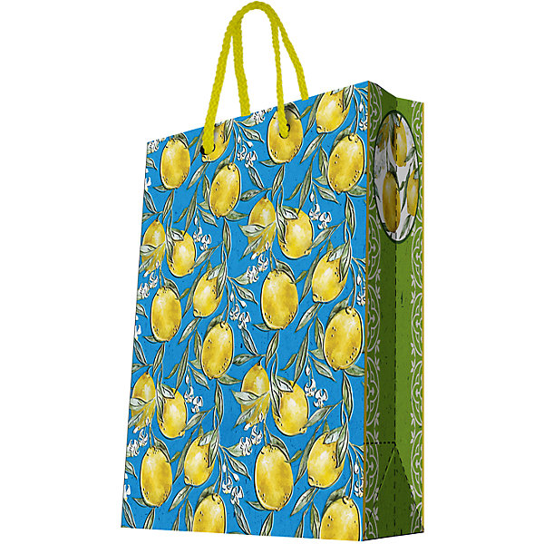 Подарочный пакет Лимоны 26*32,4*12,7 смДетские подарочные пакеты<br>Красиво упакованный подарок приятно получать вдвойне! Прочный красивый бумажный пакет станет прекрасным дополнением к подарку.<br><br>Дополнительная информация:<br><br>- Материал: бумага (плотность бумаги 250 г/м2).<br>- Размер: 26х32,4х12,7 cм.<br>- Ширина основания: 26 см.<br>- Эффект: ламинация.<br><br>Подарочный пакет Лимоны 26х32,4х12,7 см, можно купить в нашем магазине.<br>Ширина мм: 260; Глубина мм: 324; Высота мм: 127; Вес г: 100; Возраст от месяцев: 36; Возраст до месяцев: 2147483647; Пол: Унисекс; Возраст: Детский; SKU: 4548400;
