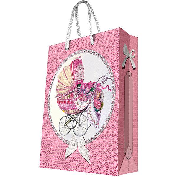 Подарочный пакет Ретро-коляска 26*32,4*12,7 смДетские подарочные пакеты<br>Красиво упакованный подарок приятно получать вдвойне! Прочный красивый бумажный пакет станет прекрасным дополнением к подарку.<br><br>Дополнительная информация:<br><br>- Материал: бумага (плотность бумаги 250 г/м2).<br>- Размер: 26х32,4х12,7 cм.<br>- Ширина основания: 26 см.<br>- Эффект: ламинация.<br><br>Подарочный пакет Ретро-коляска 26х32,4х12,7 см, можно купить в нашем магазине.<br><br>Ширина мм: 260<br>Глубина мм: 324<br>Высота мм: 127<br>Вес г: 100<br>Возраст от месяцев: 36<br>Возраст до месяцев: 2147483647<br>Пол: Женский<br>Возраст: Детский<br>SKU: 4548401