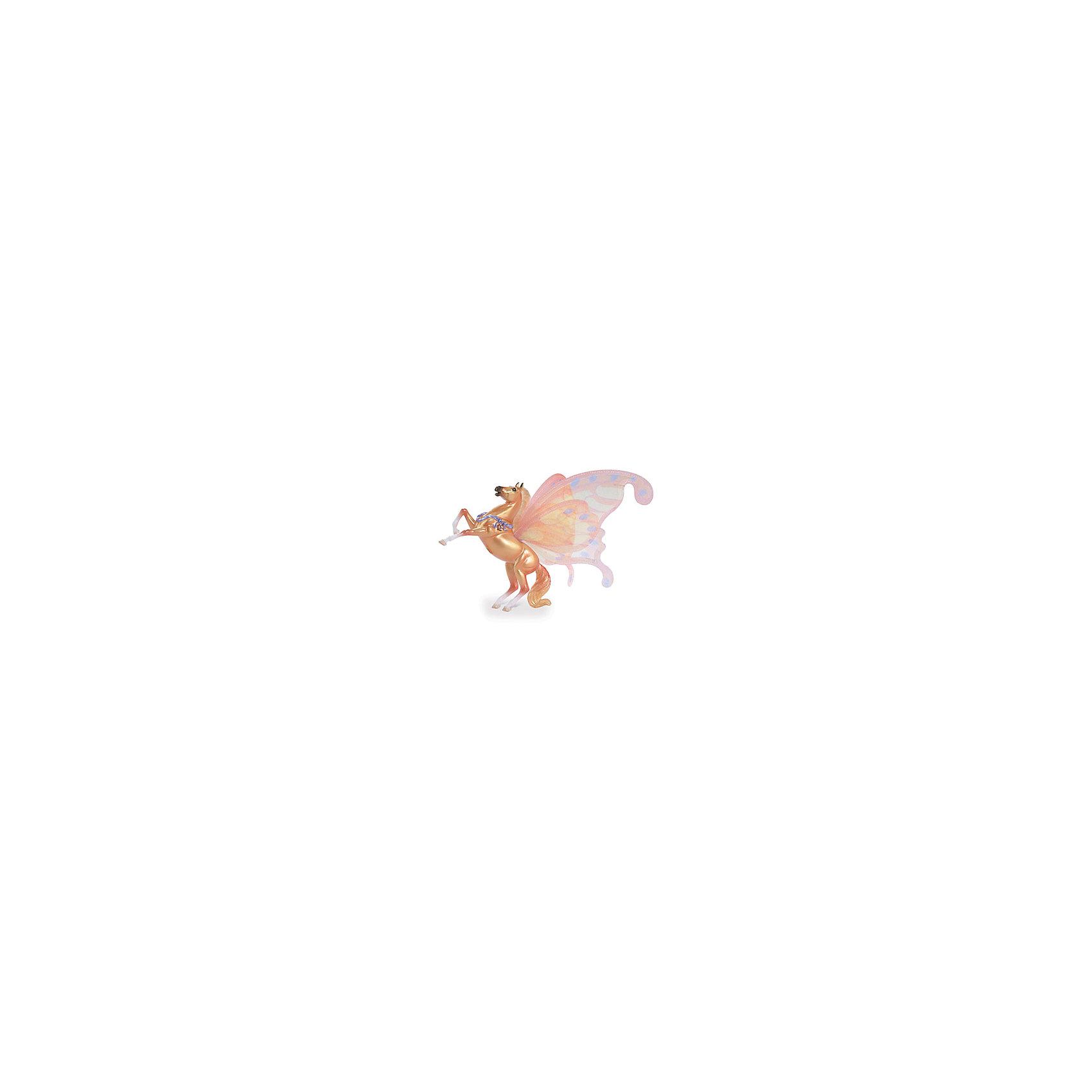 Лошадка с крыльями Сирокко, серия Танцы ветра, BreyerМир животных<br>Лошадка с крыльями Сирокко, серия Танцы ветра, Breyer, станет отличным подарком для всех любителей этих грациозных животных. Очаровательный жеребенок Сирокко - звезда четвертой книги Танцы Ветра из целой серии книг, изданных международным книжным издательством Macmillan Publishers. Фигурка поразит Вас тщательной проработкой всех деталей и реалистичностью. У лошадки огненно-золотого цвета роскошные блестящие грива и хвост в тон туловища, копыта - белые. На спине Сирокко шелковые полупрозрачные крылья, выполненные в нежных желто-оранжевых тонах. Лошадку украшает магическая лента на груди. Сирокко любит скакать и вставать на дыбы, везде где он проскачет остается облако волшебных бабочек. <br><br>Лошадки, созданные мастерами компании Breyer (Бреер) являются самыми реалистичными копиями лошадей. Они отличаются точностью линий, тщательной проработкой мелких деталей и ручной росписью. Каждая лошадка особенная и не похожая на других, это настоящее произведение искусства, которое будет радовать не только детей, но и взрослых.<br><br>Дополнительная информация:<br><br>- Материал: пластик.<br>- Размер игрушки: 11,5 х 9 см.<br>- Размер упаковки: 19 х 4 х 27 см.<br>- Вес: 0,3 кг.<br><br>Лошадку с крыльями Сирокко, серия Танцы ветра, Breyer, можно купить в нашем интернет-магазине.<br><br>Ширина мм: 190<br>Глубина мм: 40<br>Высота мм: 270<br>Вес г: 300<br>Возраст от месяцев: 36<br>Возраст до месяцев: 1188<br>Пол: Унисекс<br>Возраст: Детский<br>SKU: 4552539