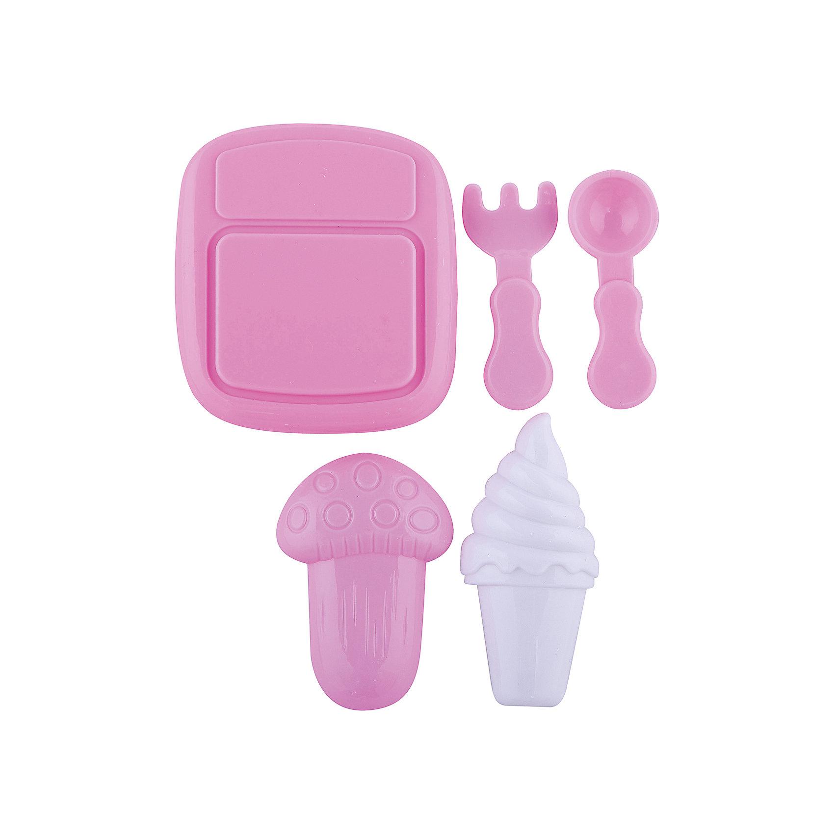 Набор посудки Все для обеда, EstaBellaПосуда и аксессуары для детской кухни<br>Набор посудки Все для обеда, EstaBella (Эстабелла) – непременно понравится вашей юной хозяйке.<br>Набор посудки Все для обеда подарит вашей девочке увлекательный мир ролевой игры, фантазии и воображения. Играя с ним, она будет готовиться к взрослой жизни и станет более самостоятельной, уверенной и активной. Набор прекрасно подойдет для сюжетно-ролевых игр и станет прекрасным дополнением к любой кукольной кухне. Изготовлен из высококачественной и безопасной пластмассы.<br><br>Дополнительная информация:<br><br>- В наборе: разделочная доска, вилка, нож, другие аксессуары<br>- Материал: пластмасса<br>- Размер упаковки: 12х3х12 см.<br><br>Набор посудки Все для обеда, EstaBella (Эстабелла) можно купить в нашем интернет-магазине.<br><br>Ширина мм: 120<br>Глубина мм: 30<br>Высота мм: 120<br>Вес г: 390<br>Возраст от месяцев: 36<br>Возраст до месяцев: 72<br>Пол: Женский<br>Возраст: Детский<br>SKU: 4552915