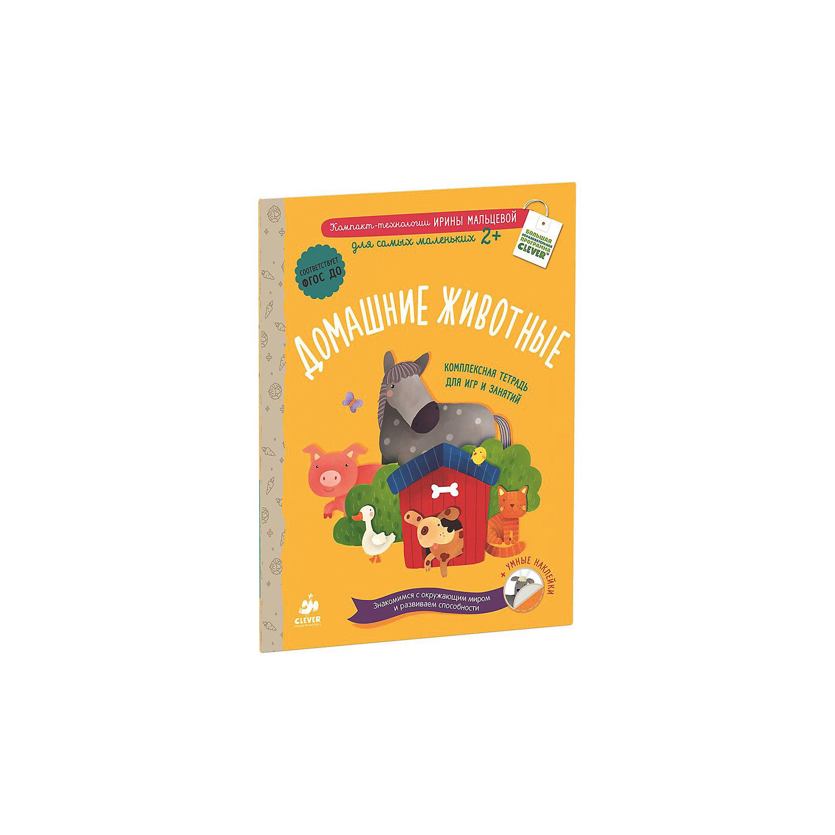 Тетрадь для игр и занятий Домашние животные, Мальцева И.Книги для развития мышления<br>Тетрадь для игр и занятий Домашние животные, Мальцева И. – это комплексная тетрадь игр и занятий для самых маленьких.<br>Тетрадь для игр и занятий Домашние животные - это настоящий развивающий мини-зоопарк. Яркие картинки, емкие комментарии, наклейки для решения логических задач и увлекательные задания помогут ребенку, научится считать, сравнивать, анализировать, обобщать, рассуждать и познакомят его с формами. А также разовьют внимание, смекалку, логическое мышление и мелкую моторику. Тетрадь для игр и занятий Домашние животные соответствует Федеральному государственному образовательному стандарту дошкольного образования.<br><br>Дополнительная информация:<br><br>- Автор: Мальцева Ирина Владимировна<br>- Художник: Сергеева Маша<br>- Редактор: Штерн Анна<br>- Издательство: Клевер Медиа Групп, 2016 г.<br>- Серия: Первое чтение: учимся быстро<br>- Тип обложки: мягкий переплет (крепление скрепкой или клеем)<br>- Оформление: с наклейками<br>- Иллюстрации: цветные<br>- Количество страниц: 32 (офсет)<br>- Размер: 290x220x2 мм.<br>- Вес: 124 гр.<br><br>Тетрадь для игр и занятий Домашние животные, Мальцева И. можно купить в нашем интернет-магазине.<br><br>Ширина мм: 290<br>Глубина мм: 220<br>Высота мм: 8<br>Вес г: 210<br>Возраст от месяцев: 48<br>Возраст до месяцев: 72<br>Пол: Унисекс<br>Возраст: Детский<br>SKU: 4554201