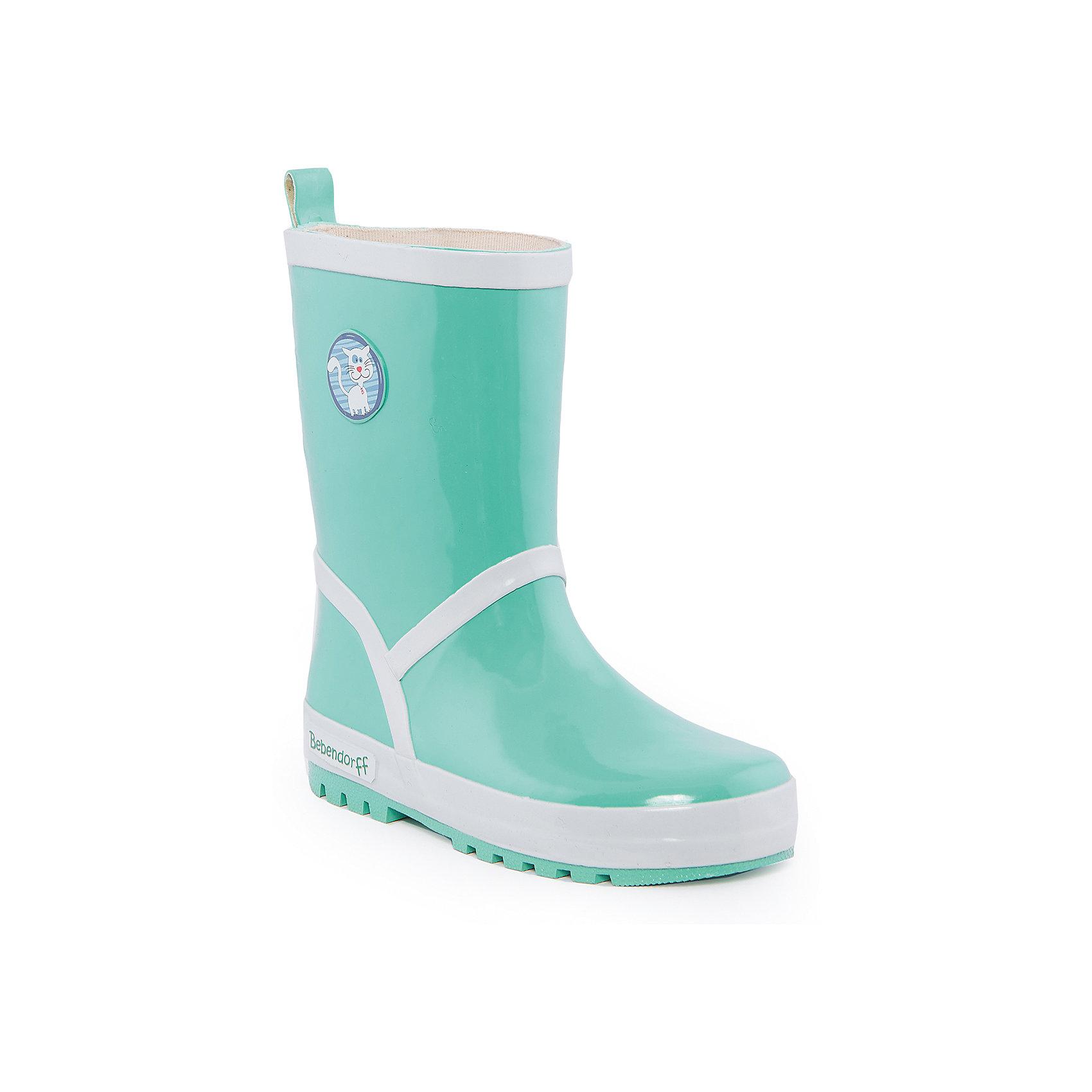 Резиновые сапоги для мальчика BebendorffРезиновые сапоги для мальчика от известного бренда Bebendorff<br><br>Модные зеленые резиновые сапоги сделаны из качественной резины. Они позволят защитить ноги ребенка от сырости и обеспечат комфорт. Высокое голенище защитит одежду от грязи и влаги.<br><br>Отличительные особенности модели:<br><br>- цвет: зеленый;<br>- удобная форма;<br>- высокое голенище;<br>- качественные материалы;<br>- толстая устойчивая подошва;<br>- хлопковая подкладка;<br>- декорированы белыми полосками и принтом с котом;<br>- подошва рифленая.<br><br>Дополнительная информация:<br><br>Температурный режим: от + 5° С до + 20° С.<br><br>Состав:<br>верх - резина;<br>подкладка - хлопок;<br>стелька - хлопок;<br>подошва - резина.<br><br>Резиновые сапоги для мальчика Bebendorff (Бебендорф) можно купить в нашем магазине.<br><br>Ширина мм: 237<br>Глубина мм: 180<br>Высота мм: 152<br>Вес г: 438<br>Цвет: зеленый<br>Возраст от месяцев: 84<br>Возраст до месяцев: 96<br>Пол: Мужской<br>Возраст: Детский<br>Размер: 31,33,34,32,30<br>SKU: 4554618