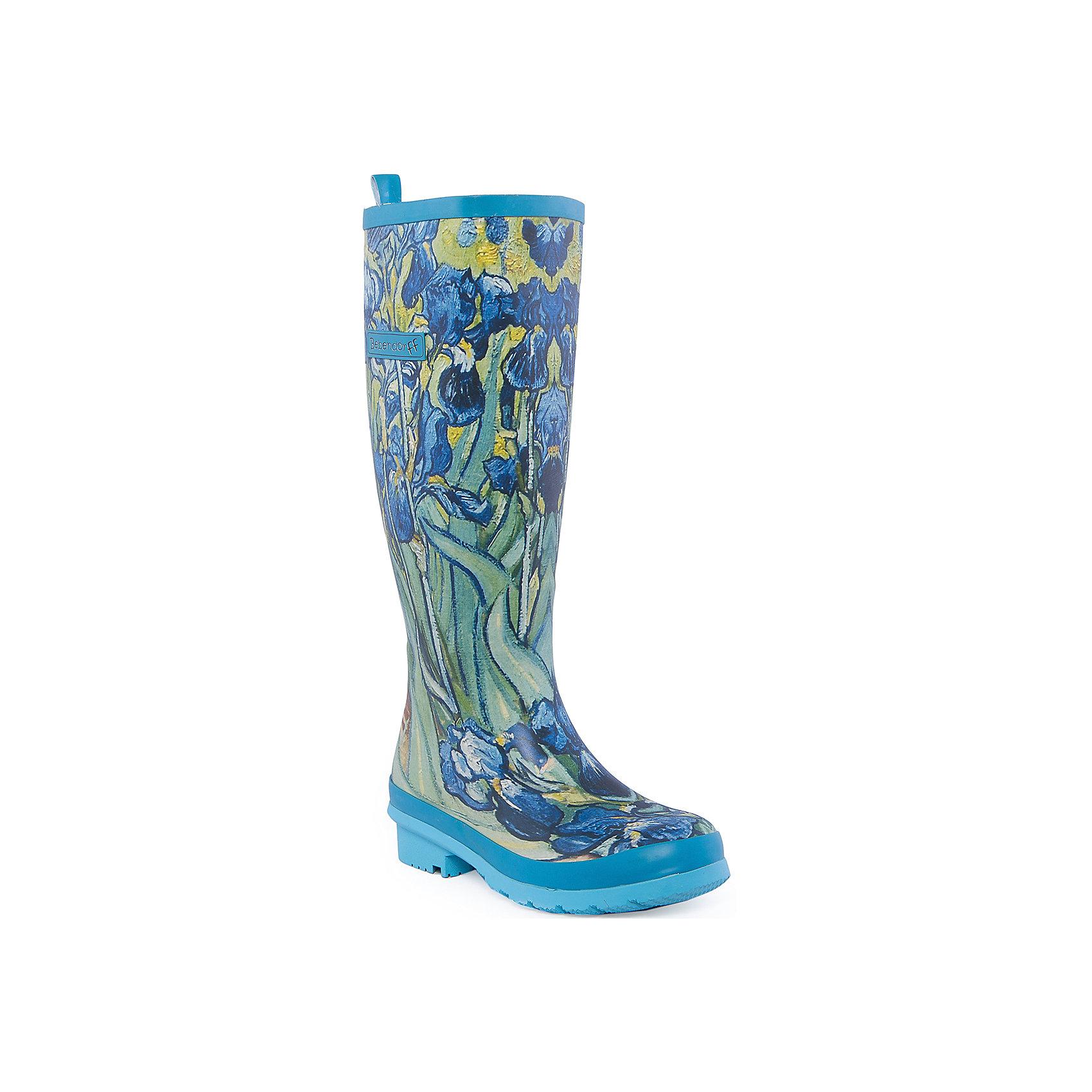 Резиновые сапоги для девочки BebendorffРезиновые сапоги для девочки от известного бренда Bebendorff<br><br>Очень стильные сапоги сделаны из качественной резины. Они позволят защитить ноги ребенка от сырости и холода благодаря шерстяной подкладке. Высокое голенище защитит одежду от грязи и влаги.<br><br>Отличительные особенности модели:<br><br>- цвет: синий;<br>- удобная форма;<br>- очень высокое голенище;<br>- качественные материалы;<br>- толстая устойчивая подошва;<br>- теплая подкладка;<br>- декорированы очень красивым принтом;<br>- подошва рифленая.<br><br>Дополнительная информация:<br><br>Температурный режим: от - 5° С до + 15° С.<br><br>Состав:<br>верх - резина;<br>подкладка - искусственный мех;<br>стелька - искусственный мех;<br>подошва - резина.<br><br>Резиновые сапоги для девочки Bebendorff (Бебендорф) можно купить в нашем магазине.<br><br>Ширина мм: 237<br>Глубина мм: 180<br>Высота мм: 152<br>Вес г: 438<br>Цвет: синий<br>Возраст от месяцев: 156<br>Возраст до месяцев: 1188<br>Пол: Женский<br>Возраст: Детский<br>Размер: 40,41,38,36,37,39<br>SKU: 4554683