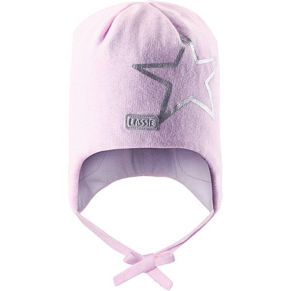 Шапка для девочки LASSIE by ReimaШапки и шарфы<br>Шапка для девочки от известной компании LASSIE by Reima<br><br>Модная теплая шапка - отличная вещь для прогулок и активного отдыха. Она стильно смотрится и хорошо сидит.<br><br>Яркая расцветка оживляет дизайн изделия - такую вещь дети будут носить с удовольствием!<br><br>Особенности модели:<br><br>- цвет: розовый;<br>- приятный материал;<br>- натуральный хлопок;<br>- стильный дизайн;<br>- завязки;<br>- ветронепроницаемые вставки для защиты ушей;<br>- светоотражающая нашивка и принт;<br>- глубокая посадка.<br><br>Дополнительная информация:<br><br>Температурный режим: от -15° до +10° С<br><br>Состав: 100% хлопок<br><br>Шапку для девочки от известной компании LASSIE by Reima (Лэсси Рейма) можно купить в нашем магазине.<br><br>Ширина мм: 89<br>Глубина мм: 117<br>Высота мм: 44<br>Вес г: 155<br>Цвет: розовый<br>Возраст от месяцев: 6<br>Возраст до месяцев: 12<br>Пол: Женский<br>Возраст: Детский<br>Размер: 44-46,50-52,46-48<br>SKU: 4554875