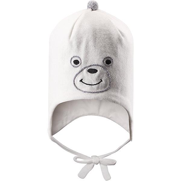Шапка для девочки LASSIEШапочки<br>Шапка для девочки от известной компании LASSIE<br><br>Модная теплая шапка - отличная вещь для прогулок и активного отдыха. Она стильно смотрится и хорошо сидит.<br><br>Вязаный рисунок оживляет дизайн изделия - такую вещь дети будут носить с удовольствием!<br><br>Особенности модели:<br><br>- цвет: белый;<br>- декорирована вязаным рисунком;<br>- приятный материал;<br>- натуральный хлопок;<br>- стильный дизайн;<br>- завязки;<br>- ветронепроницаемые вставки для защиты ушей;<br>- помпон;<br>- глубокая посадка.<br><br>Дополнительная информация:<br><br>Температурный режим: от -15° до +10° С<br><br>Состав: 100% хлопок<br><br>Шапку для девочки от известной компании LASSIE (Лэсси Рейма) можно купить в нашем магазине.<br><br>Ширина мм: 89<br>Глубина мм: 117<br>Высота мм: 44<br>Вес г: 155<br>Цвет: белый<br>Возраст от месяцев: 6<br>Возраст до месяцев: 12<br>Пол: Женский<br>Возраст: Детский<br>Размер: 44-46,42-44,50-52,46-48<br>SKU: 4554932