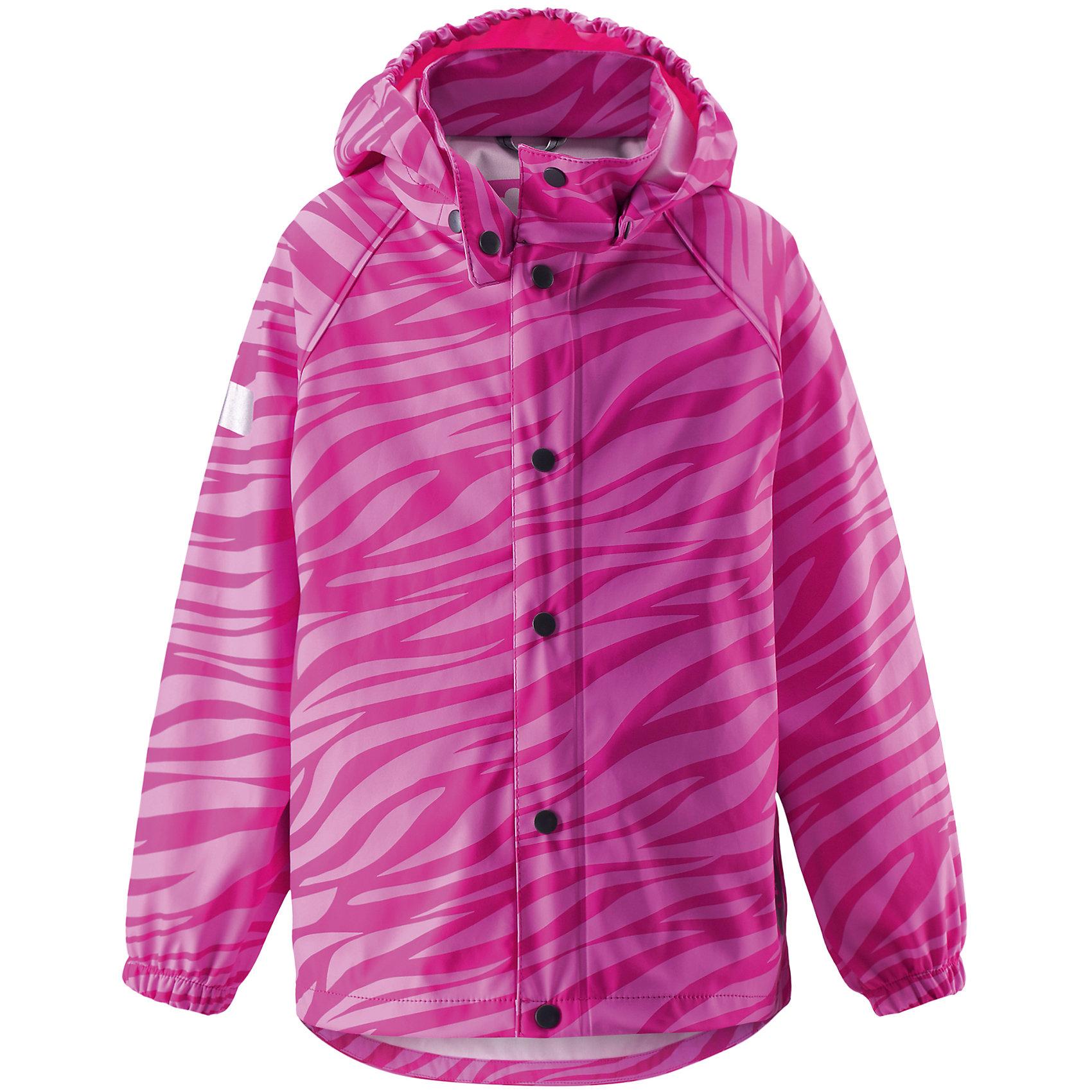 Куртка для девочки LASSIEОдежда<br>Куртка для девочки от известной компании LASSIE<br><br>Демисезонная куртка - отличная вещь для прогулок и активного отдыха. Она создана для прохладной погоды - спасет от ветра и дождя.<br>Куртка выполнена в оригинальной расцветке, легко надевается, не промокает. Ее очень просто чистить. Эта стильная и качественная вещь прослужит не один сезон!<br><br>Особенности модели:<br><br>- цвет: розовый;<br>- без утеплителя;<br>- рукава реглан;<br>- съемный капюшон;<br>- светоотражающие элементы;<br>- водо- и ветронепроницаемый, грязеотталкивающий материал;<br>- запаянные швы;<br>- застежки - кнопки;<br>- декорирована принтом;<br>- внизу рукавов - резинки.<br><br>Дополнительная информация:<br><br>Температурный режим: от +10° до +20° С<br><br>Состав: 100% полиэстер<br><br>Куртку для девочки от известной компании LASSIE (Лэсси Рейма) можно купить в нашем магазине.<br><br>Ширина мм: 356<br>Глубина мм: 10<br>Высота мм: 245<br>Вес г: 519<br>Цвет: розовый<br>Возраст от месяцев: 48<br>Возраст до месяцев: 60<br>Пол: Женский<br>Возраст: Детский<br>Размер: 110,128,116,104,98,92,122<br>SKU: 4555068