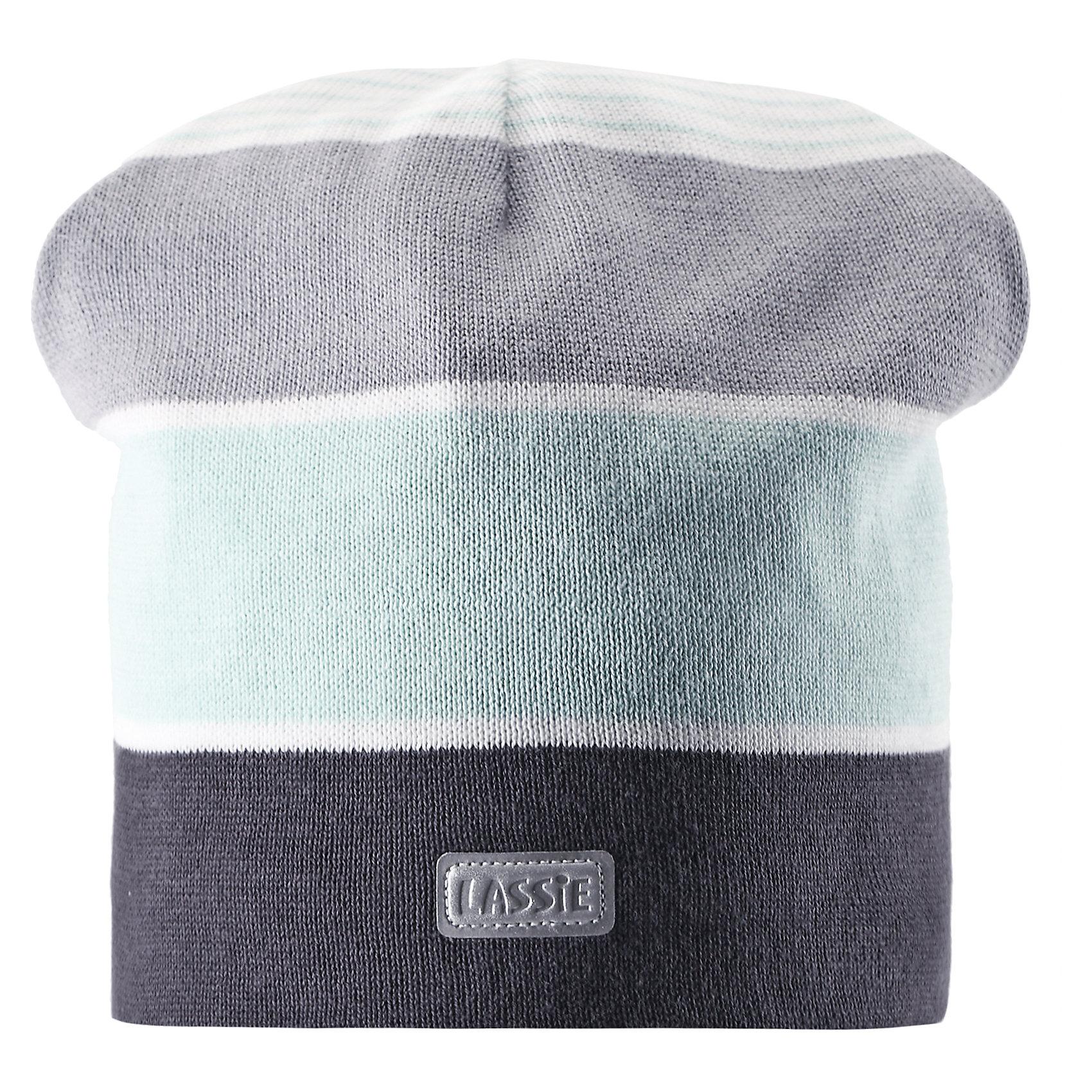 Шапка  LASSIE by ReimaШапка для мальчика от известной компании LASSIE by Reima<br><br>Модная теплая шапка - отличная вещь для прогулок и активного отдыха. Она стильно смотрится и хорошо сидит.<br><br>Необычная форма выделяет дизайн изделия - такую вещь дети будут носить с удовольствием!<br><br>Особенности модели:<br><br>- цвет: серый;<br>- приятный материал;<br>- натуральный хлопок;<br>- стильный дизайн;<br>- ветронепроницаемые вставки для защиты ушей;<br>- светоотражающая нашивка;<br>- глубокая посадка.<br><br>Дополнительная информация:<br><br>Температурный режим: от -10° до +10° С<br><br>Состав: 100% хлопок<br><br>Шапку для мальчика от известной компании LASSIE by Reima (Лэсси Рейма) можно купить в нашем магазине.<br><br>Ширина мм: 89<br>Глубина мм: 117<br>Высота мм: 44<br>Вес г: 155<br>Цвет: серый<br>Возраст от месяцев: 36<br>Возраст до месяцев: 60<br>Пол: Унисекс<br>Возраст: Детский<br>Размер: 50-52,46-48,54-56<br>SKU: 4555406
