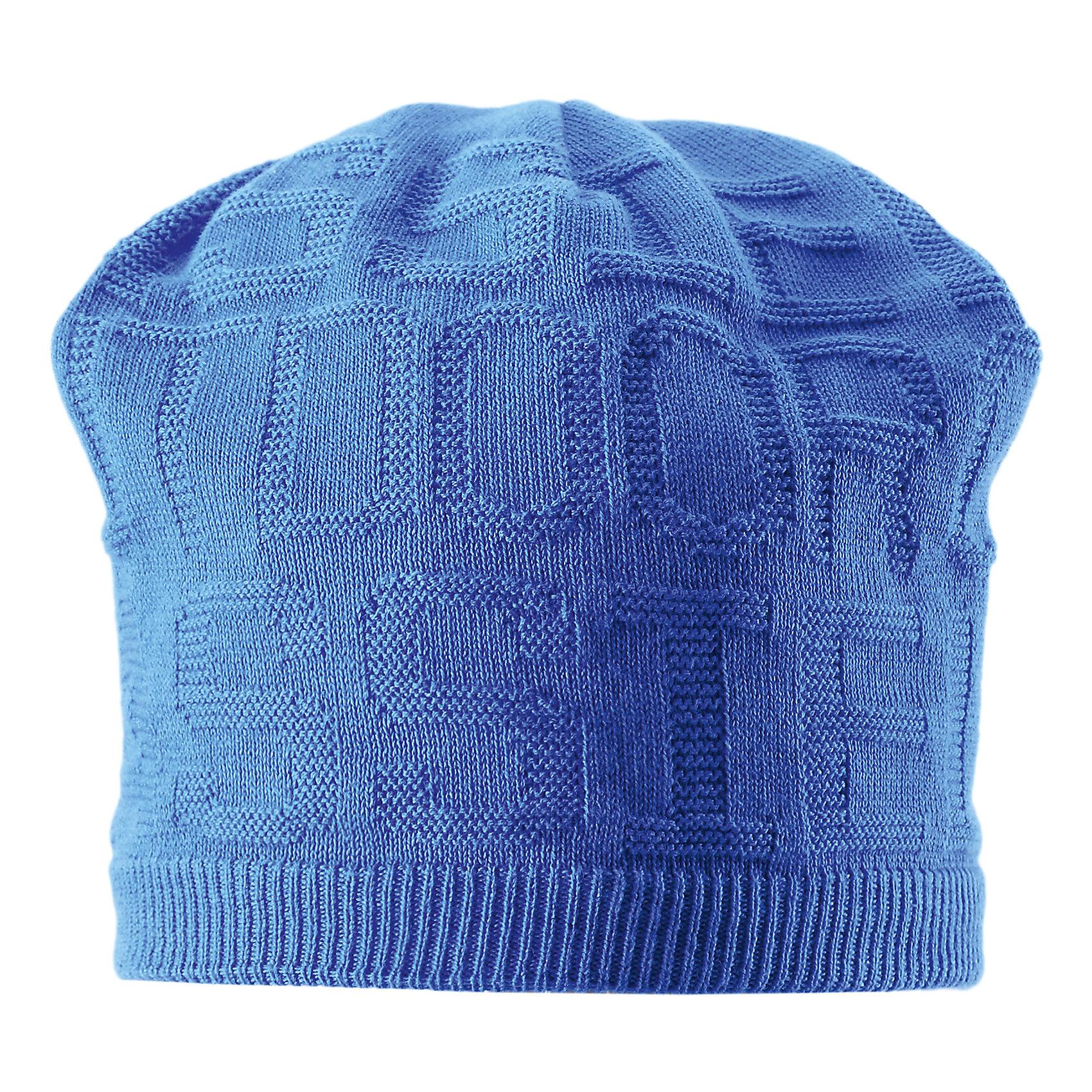Шапка для мальчика LASSIE by ReimaШапки и шарфы<br>Шапка для мальчика от известной компании LASSIE by Reima<br><br>Вязаная теплая шапка - отличная вещь для прогулок и активного отдыха. Она стильно смотрится и хорошо сидит.<br><br>Приятная расцветка оживляет дизайн изделия - такую вещь дети будут носить с удовольствием!<br><br>Особенности модели:<br><br>- цвет: синий;<br>- приятный материал;<br>- натуральный хлопок;<br>- стильный дизайн;<br>- объемная структура;<br>- ветронепроницаемые вставки для защиты ушей;<br>- глубокая посадка.<br><br>Дополнительная информация:<br><br>Температурный режим: от -15° до +10° С<br><br>Состав: 100% хлопок<br><br>Шапку для мальчика от известной компании LASSIE by Reima (Лэсси Рейма) можно купить в нашем магазине.<br><br>Ширина мм: 89<br>Глубина мм: 117<br>Высота мм: 44<br>Вес г: 155<br>Цвет: разноцветный<br>Возраст от месяцев: 72<br>Возраст до месяцев: 120<br>Пол: Мужской<br>Возраст: Детский<br>Размер: 54-56,50-52<br>SKU: 4555436
