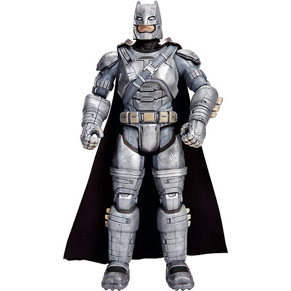 Фигурка Бэтмен vs Супермен, 30 смГерои комиксов<br>Новые фигурки любимых персонажей из серии «Бэтмен против Супермена: На заре справедливости» приведут в восторг всех поклонников Marvel. Фигурка Бэтмена  максимально детализирована, имеет  тщательно проработанную мускулатуру и большое количество аксессуаров. За спиной развевается черный плащ. Игрушка выполнена из высококачественного пластика, раскрашена экологичными гипоаллергенными красителями, имеет более 10 шарниров, что позволяет приобретать любые, очень реалистичные позы. <br><br>Дополнительная информация:<br><br>- Материал: пластик.<br>- Размер фигурки: 30 см. <br>- Голова, руки, ноги подвижные (более 10 шарниров).<br>- Прекрасно детализированы.<br><br>Фигурку Бэтмен vs Супермен, 30 см, можно купить в нашем магазине.<br><br>Ширина мм: 70<br>Глубина мм: 230<br>Высота мм: 330<br>Вес г: 701<br>Возраст от месяцев: 36<br>Возраст до месяцев: 144<br>Пол: Мужской<br>Возраст: Детский<br>SKU: 4556235