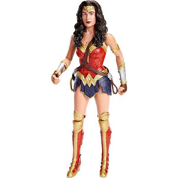 Фигурка Чудо женщина  Бэтмен vs Супермен, 30 смГерои комиксов<br>Новые фигурки любимых персонажей из серии «Бэтмен против Супермена: На заре справедливости» приведут в восторг всех поклонников Marvel. Фигурка Чудо-женщины  максимально детализирована, имеет  тщательно проработанный костюм и большое количество аксессуаров. Игрушка выполнена из высококачественного пластика, раскрашена экологичными гипоаллергенными красителями, имеет более 10 шарниров, что позволяет приобретать любые, очень реалистичные позы. <br><br>Дополнительная информация:<br><br>- Материал: пластик.<br>- Размер фигурки: 30 см. <br>- Голова, руки, ноги подвижные (более 10 шарниров).<br>- Прекрасно детализированы.<br><br>Фигурку Чудо женщина  Бэтмен vs Супермен, 30 см, можно купить в нашем магазине.<br><br>Ширина мм: 70<br>Глубина мм: 230<br>Высота мм: 330<br>Вес г: 701<br>Возраст от месяцев: 36<br>Возраст до месяцев: 144<br>Пол: Мужской<br>Возраст: Детский<br>SKU: 4556236
