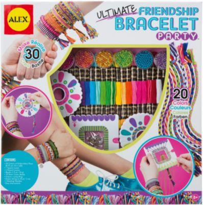 Большой набор для плетения браслетов Друзья , ALEX