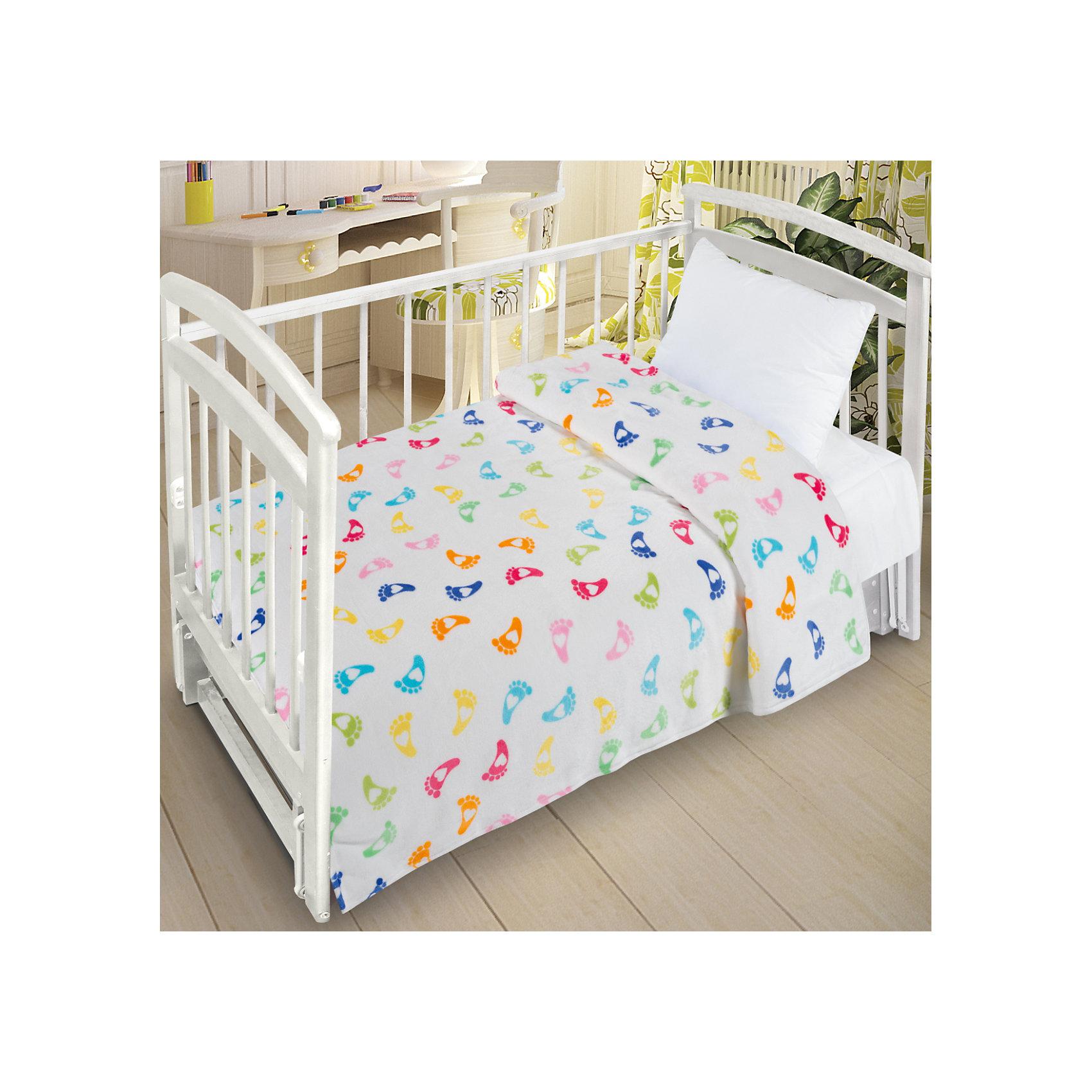Плед  Велсофт-беби в кроватку 110*140 см