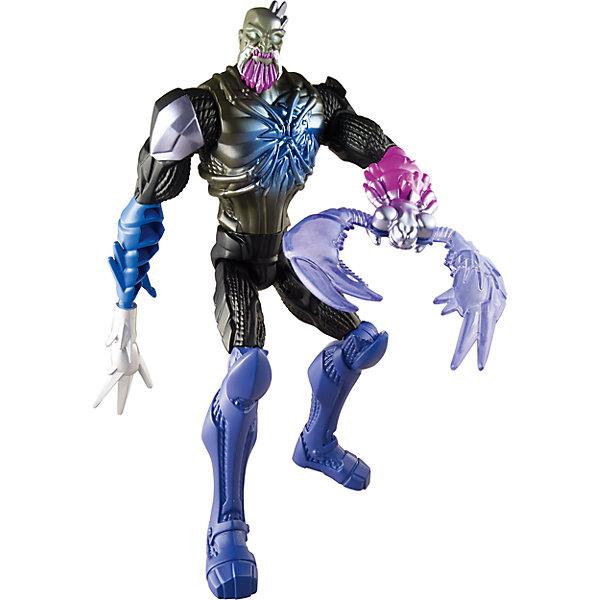 Фигурка Макс  Стил «Делюкс», Max SteelMax Steel<br>Фигурка из серии Макс Стил обязательно понравится мальчишкам! Она выполнена в виде одного из героев мультсериала Max Steel. Экстройер «Жало Скорпиона» известен своей способностью превращаться в любое животное, которого коснется. Рычаг на руке героя приводит в движение смертоносное жало! Подвижные конечности позволяют фигурке приобретать реалистичные позы, открывая простор для фантазии и различных игровых сюжетов. Собери всех героев серии, проигрывай любимые сцены из мультсериала или придумывай свои новые истории! <br><br>Дополнительная информация: <br><br>- Материал: пластик.<br>- Размер игрушки: 29 см. <br>- Подвижные конечности.<br><br>Фигурку Макс  Стил «Делюкс», Max Steel, можно купить в нашем магазине.<br>Ширина мм: 150; Глубина мм: 60; Высота мм: 310; Вес г: 320; Возраст от месяцев: 60; Возраст до месяцев: 96; Пол: Мужской; Возраст: Детский; SKU: 4557608;