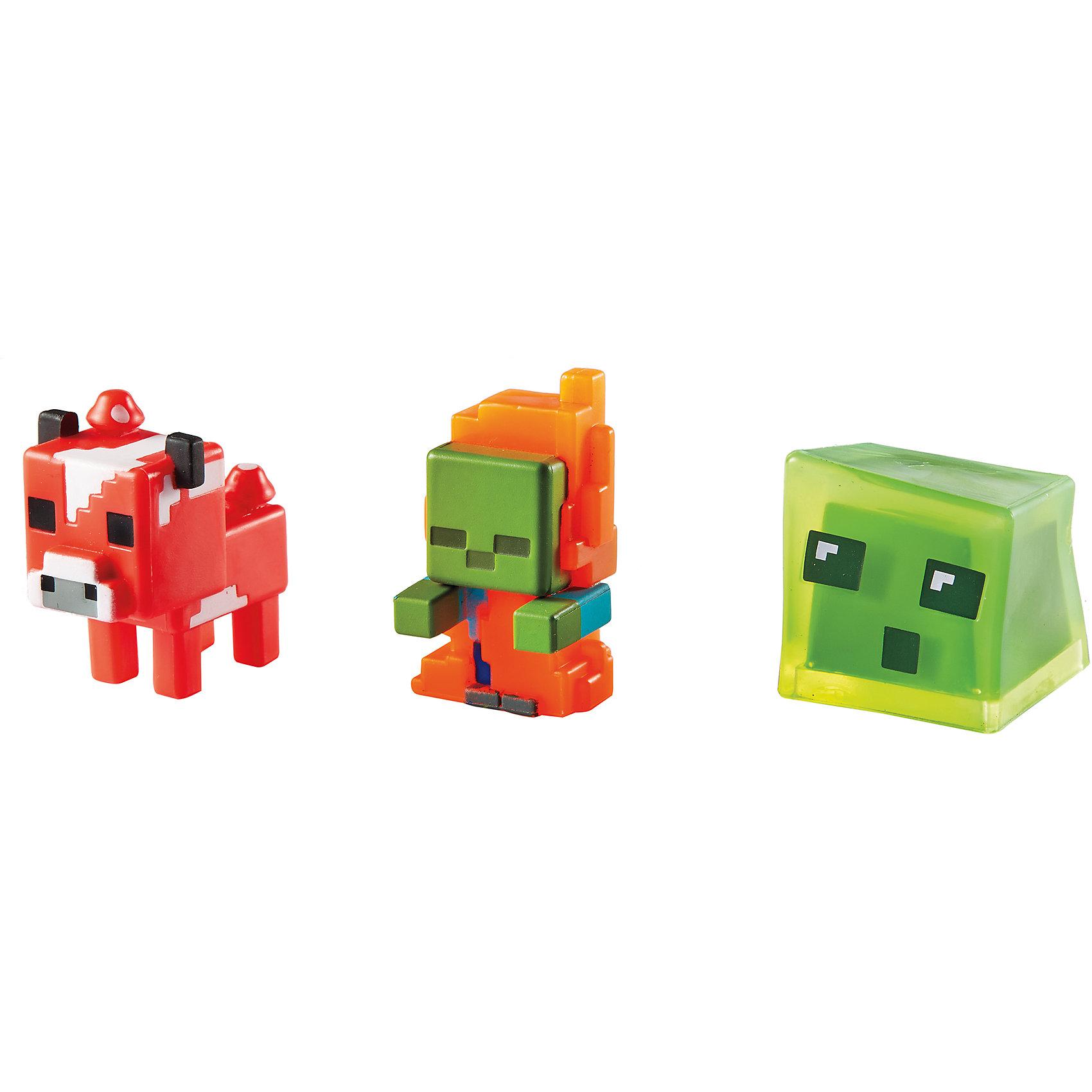 Набор из 3х фигурок  MinecraftФигурки приведут в восторг всех поклонников Minecraft. Они прекрасно детализированы, реалистично раскрашены, очень похожи на героев компьютерной игры. Собери все фигурки, создавай свои мир Майнкрафт прямо на письменном столе или там, где ты пожелаешь! Игрушки выполнены из высококачественных экологичных материалов безопасных для детей. В наборе: Слизень, Огненный зомби, Грибная корова. <br><br>Дополнительная информация:<br><br>- Материал: пластик.<br>- Размер упаковки: 16,5х16,5х4 см.<br>- Размер фигурки: 3 см. <br>- 3 фигурки в комплекте. <br><br>Набор из 3х фигурок  Minecraft (Майнкрафт) можно купить в нашем магазине.<br><br>Ширина мм: 166<br>Глубина мм: 137<br>Высота мм: 30<br>Вес г: 37<br>Возраст от месяцев: 36<br>Возраст до месяцев: 72<br>Пол: Мужской<br>Возраст: Детский<br>SKU: 4557617