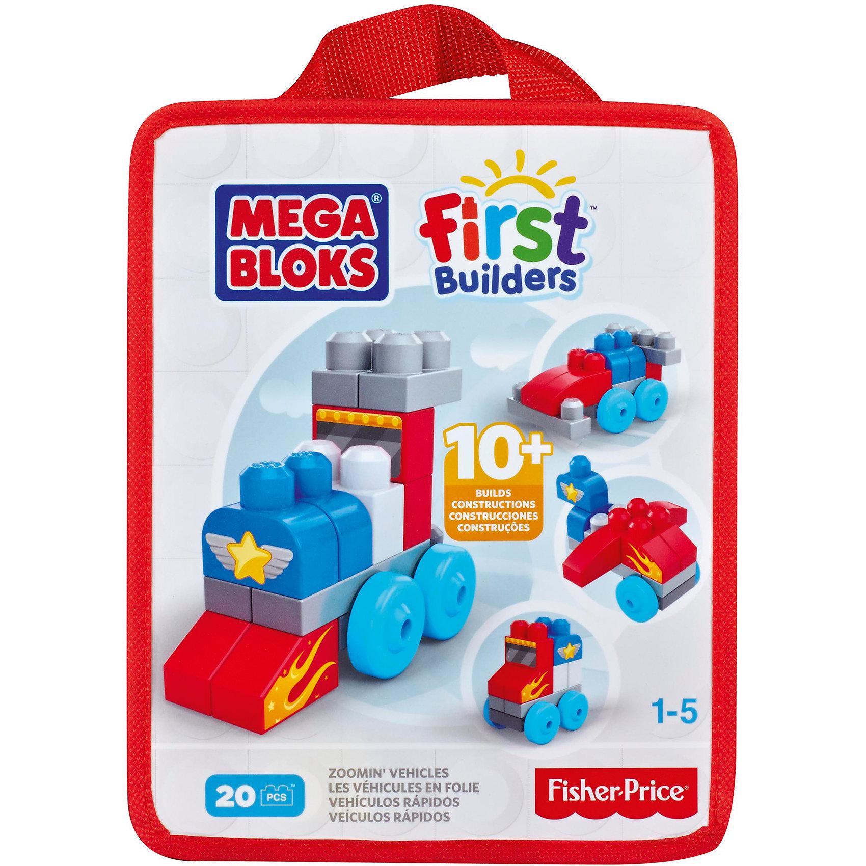 Конструктор красный, MEGA BLOKS First BuildersПластмассовые конструкторы<br>Яркий  конструктор MEGA BLOKS обязательно понравится малышам. С помощью деталей конструктора маленькие строители смогут сделать различные виды транспорта и, конечно, весело поиграть. Крупные кубики сделаны специально для детских ручек, имеют удобные крепления, прекрасно складываются между собой. Игра с конструктором позволяет крохе развить тактильные ощущения, цветовосприятие, моторику, мышление и подарит море положительных эмоций. Все детали набора выполнены из высококачественного гипоаллергенного пластика, не имеют острых углов, абсолютно безопасны для детей. После игры элементы конструктора можно сложить в удобную сумку на молнии. <br><br>Дополнительная информация:<br><br>- Материал: пластик.<br>- Размер упаковки: 21х26х10 см. <br>- Комплектация: 20 элементов конструктора, сумка. <br>- Вес: 272 гр.<br><br>Конструктор красный, MEGA BLOKS First Builders (Мега Блок), можно купить в нашем магазине.<br><br>Ширина мм: 255<br>Глубина мм: 205<br>Высота мм: 100<br>Вес г: 431<br>Возраст от месяцев: 24<br>Возраст до месяцев: 60<br>Пол: Унисекс<br>Возраст: Детский<br>SKU: 4557638