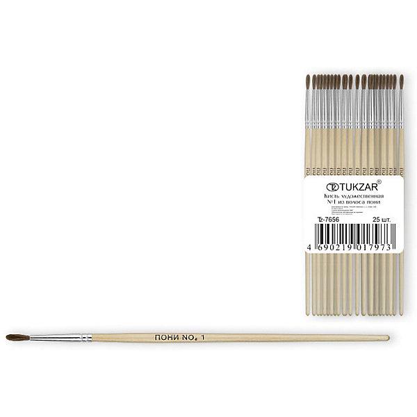 Кисть №1 (пони)Краски и кисточки<br>Кисть оптимально подходит для рисования акварелью и гуашью: она мягкие, хорошо впитывают краску и отлично держит форму. Имеет удобную деревянную ручку и безопасную алюминиевую обойму. <br>Рисование - неотъемлемая часть гармоничного развития личности ребенка, в процессе которого воспитывается эстетическое восприятие и вкус, тренируется моторика, развивается цветовосприятие и фантазия.  <br><br>Дополнительная информация:<br><br>- Материал: дерево, металл, ворс пони.<br>- Форма кисти: круглая.<br>- Размер: №1.<br><br>Кисть №1 (пони) можно купить в нашем магазине.<br>Ширина мм: 150; Глубина мм: 10; Высота мм: 10; Вес г: 2; Возраст от месяцев: 36; Возраст до месяцев: 120; Пол: Унисекс; Возраст: Детский; SKU: 4558376;