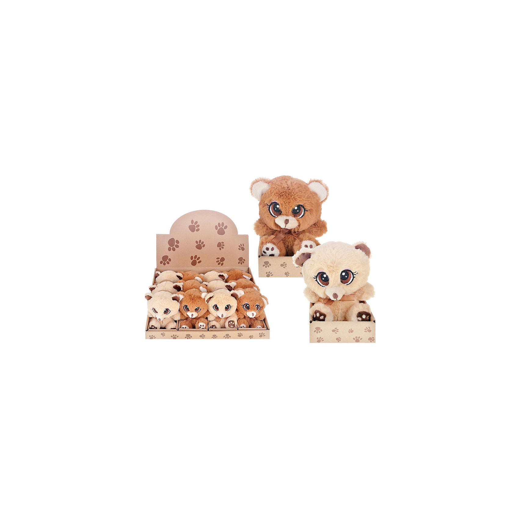 Мягкая игрушка Мишка (2 цвета в ассортименте)Медвежата<br>Очаровательный мягкий мишка с большими глазами - прекрасный подарок на любой праздник. Дети обожают мягкие игрушки и всегда будут рады новому плюшевому или меховому другу! Игрушка выполнена из высококачественных экологичных материалов, плотно набита, приятна на ощупь. <br><br>Дополнительная информация:<br><br>- Материал: текстиль, пластик, синтепон.<br>- Размер: 7,5х5х15 см. <br>- 2 цвета в ассортименте: коричневый, бежевый. <br>ВНИМАНИЕ! Данный артикул представлен в разных вариантах исполнения. К сожалению, заранее выбрать определенный вариант невозможно. При заказе нескольких игрушек возможно получение одинаковых.<br><br>Мягкую игрушку Мишка (2 цвета в ассортименте) можно купить в нашем магазине.<br><br>Ширина мм: 120<br>Глубина мм: 90<br>Высота мм: 130<br>Вес г: 98<br>Возраст от месяцев: 36<br>Возраст до месяцев: 144<br>Пол: Унисекс<br>Возраст: Детский<br>SKU: 4558383